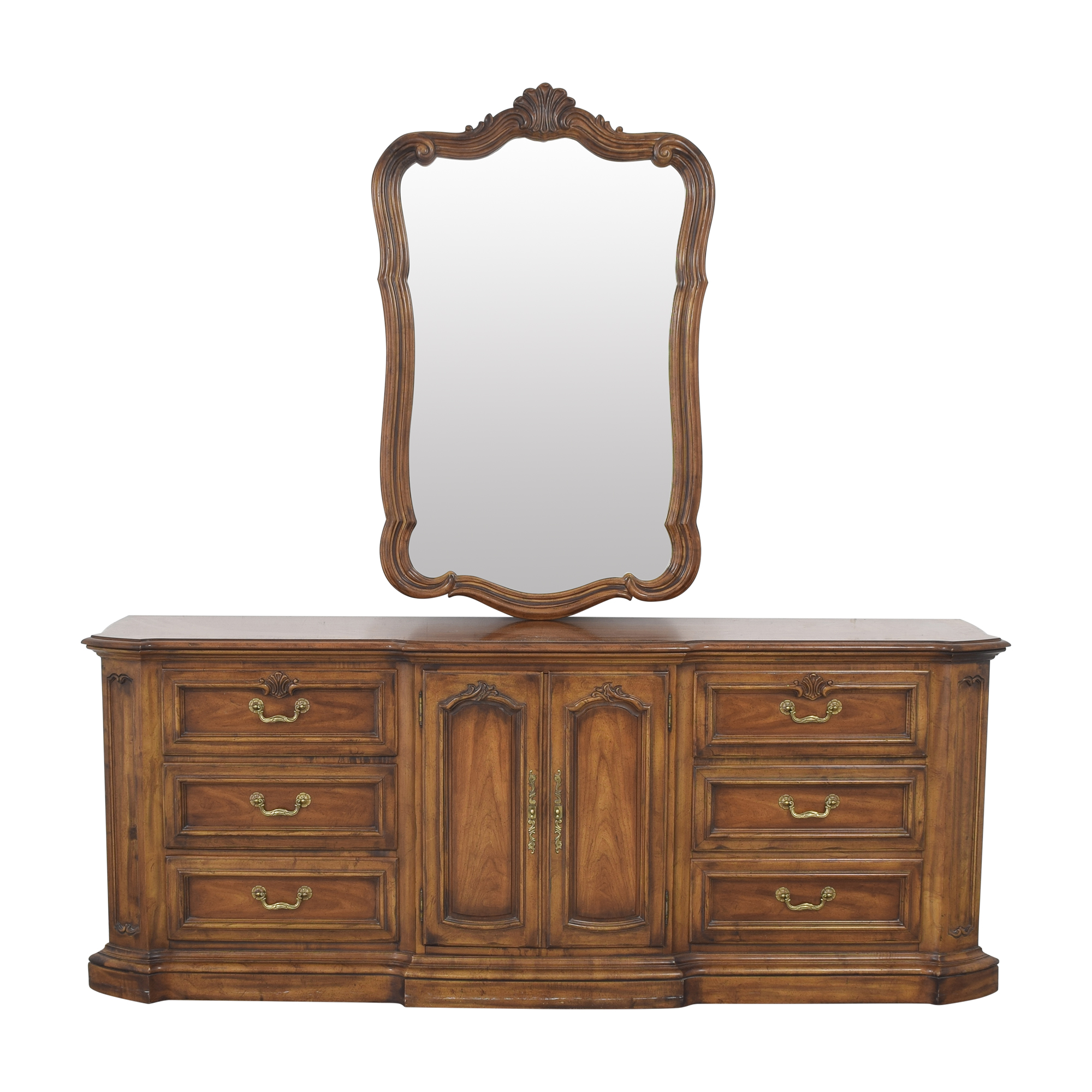 Heritage Heritage French Country Triple Dresser with Mirror