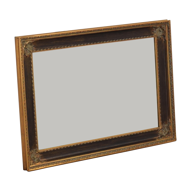 Vintage Framed Wall Mirror Decor