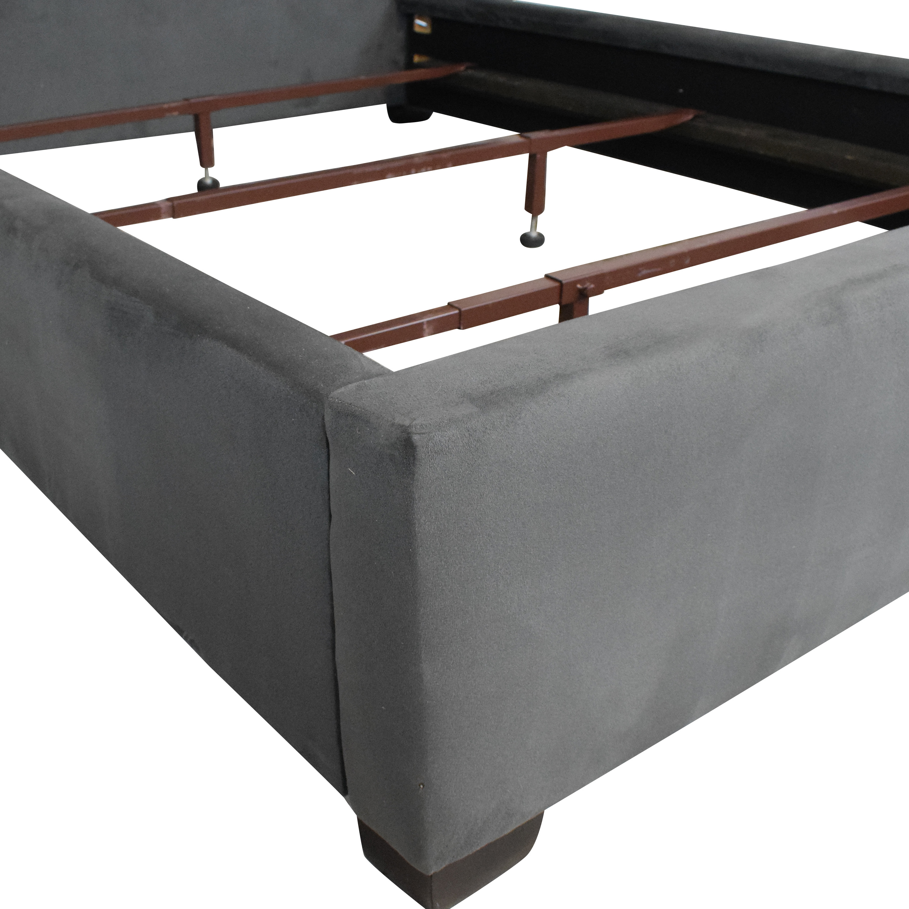shop Raymour & Flanigan Full Bed Frame Raymour & Flanigan