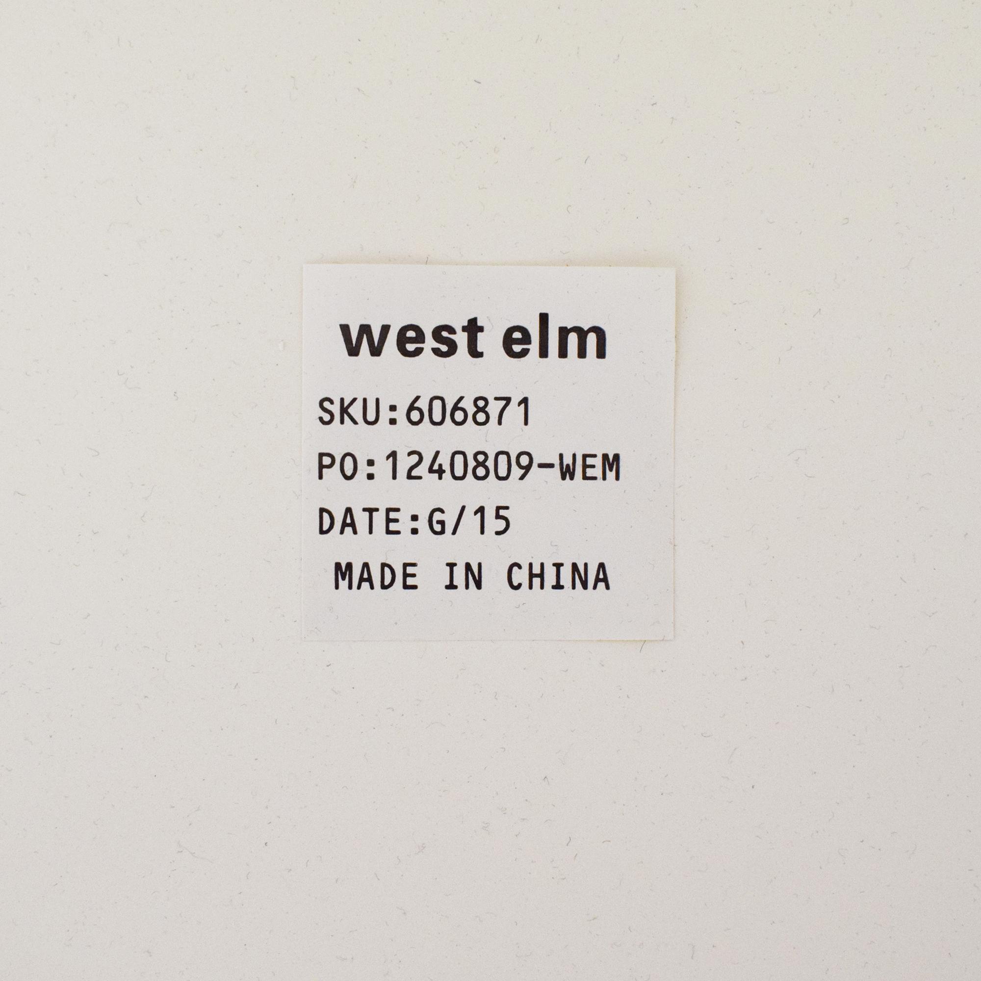 West Elm West Elm Parsons Desk discount