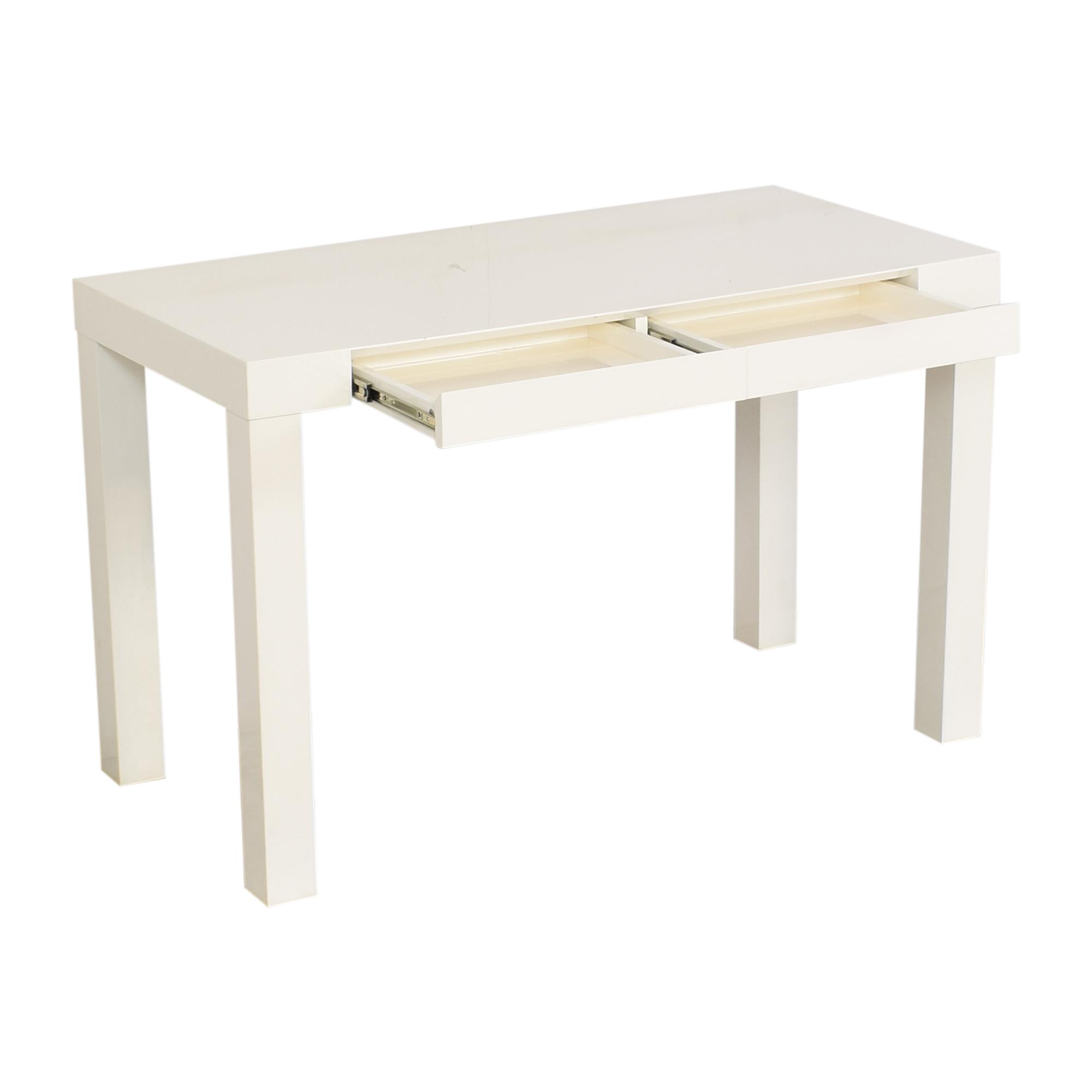 shop West Elm Parsons Desk West Elm Tables