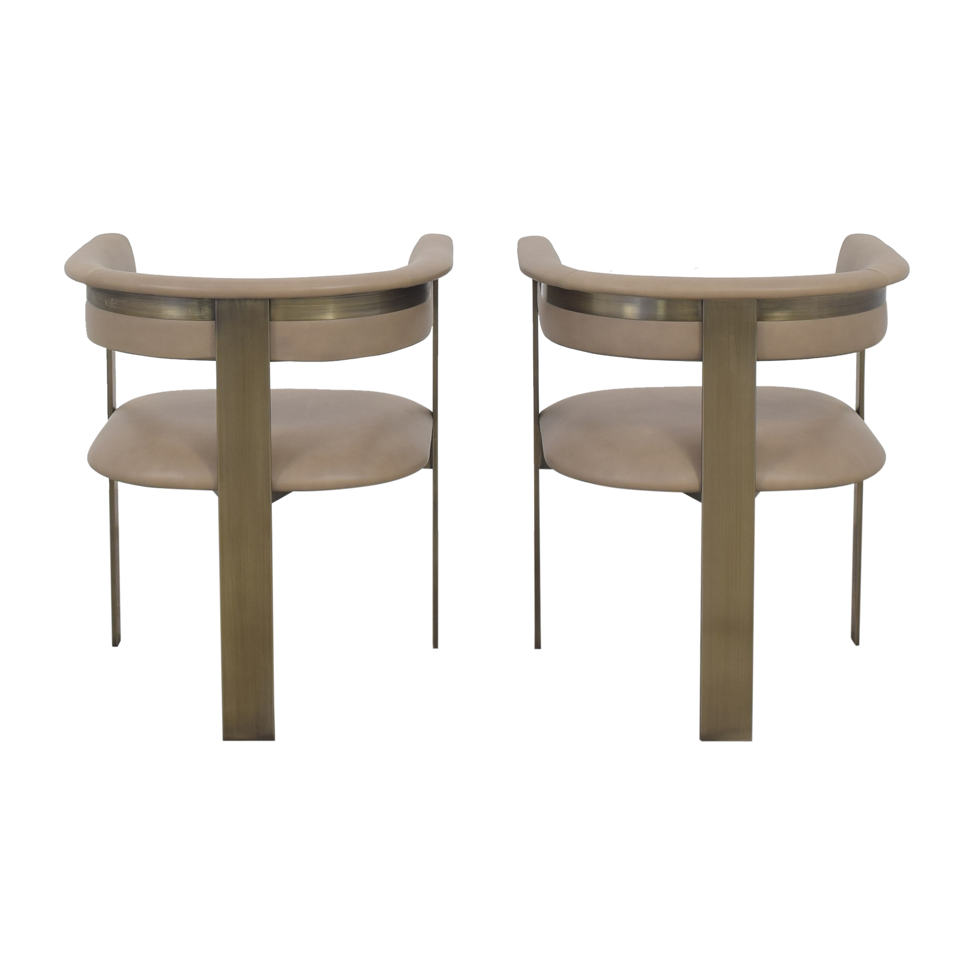 Interlude Home Interlude Home Darcy Dining Arm Chairs second hand