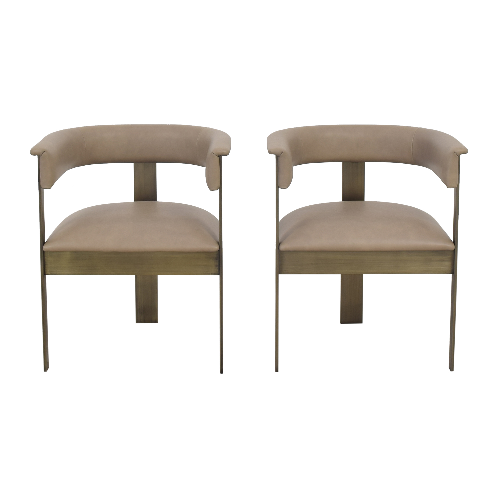 buy Interlude Home Darcy Dining Arm Chairs Interlude Home