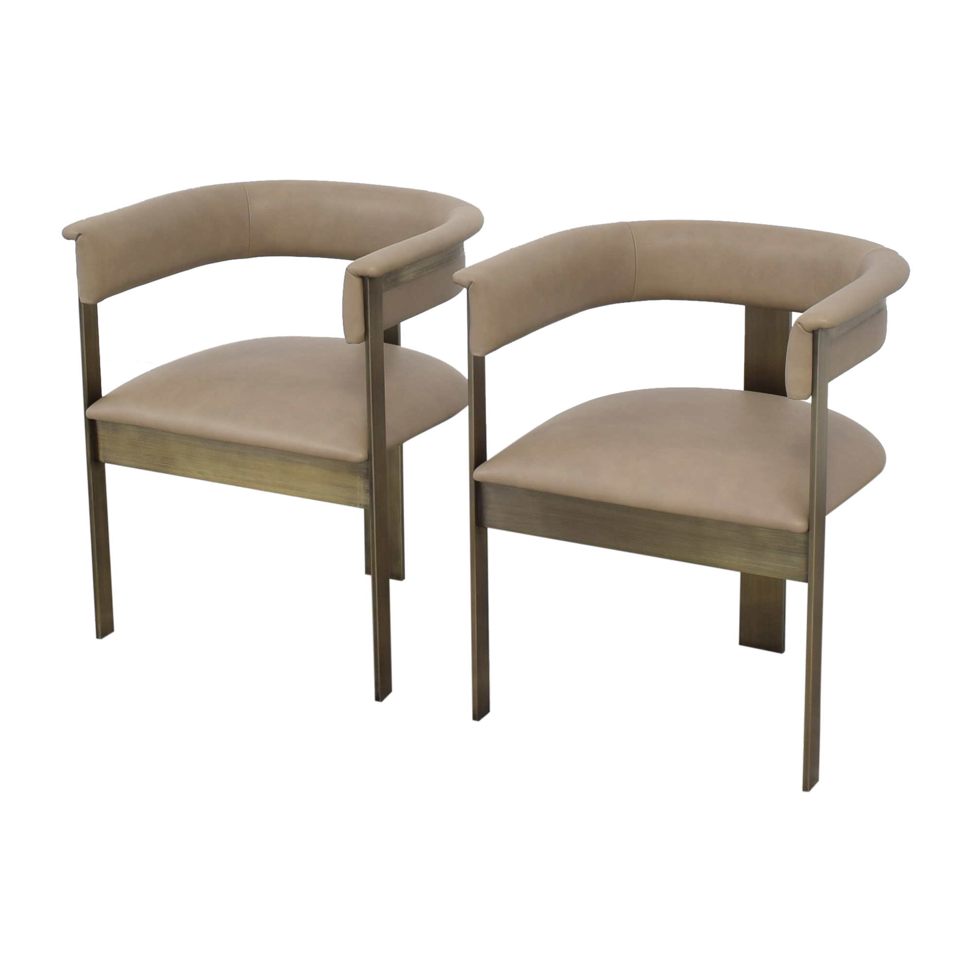 Interlude Home Darcy Dining Arm Chairs / Dining Chairs