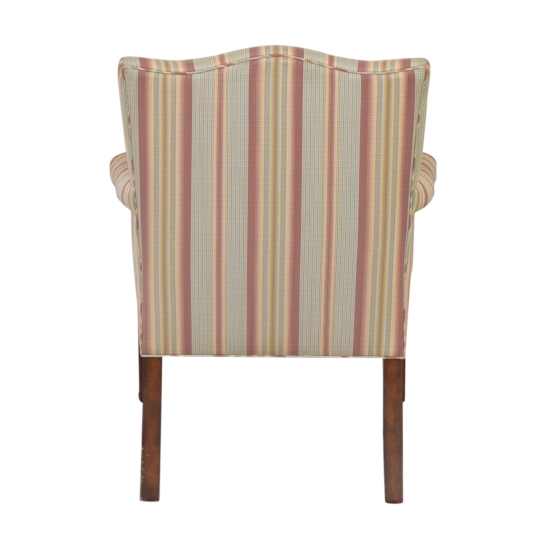 Ferrell Mittman Edward Ferrell Striped Accent Chair ma