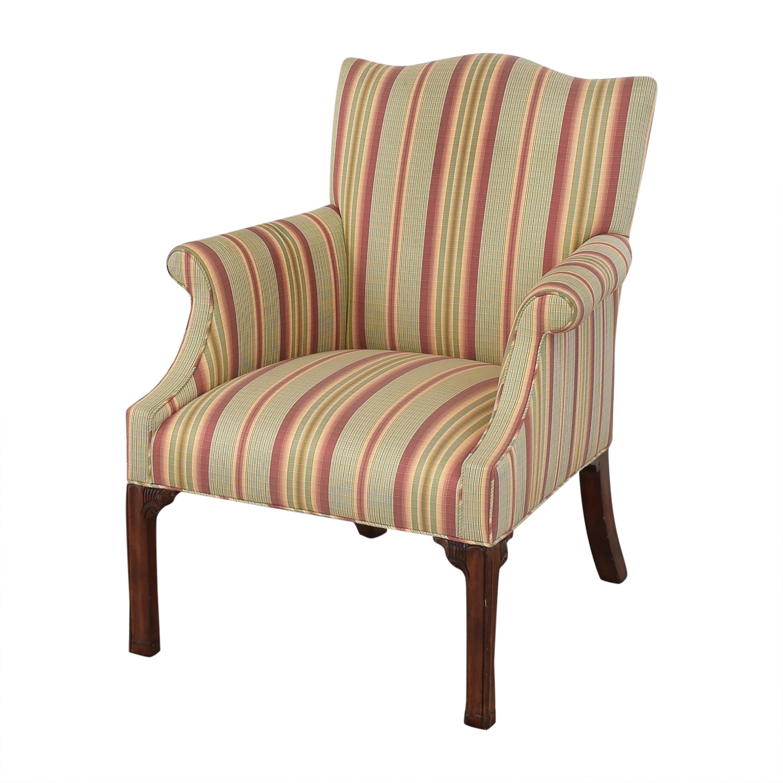 Ferrell Mittman Edward Ferrell Striped Accent Chair used