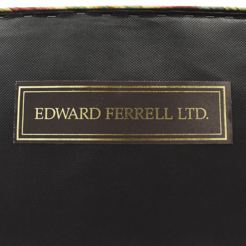 Ferrell Mittman Edward Ferrell Striped Accent Chair discount