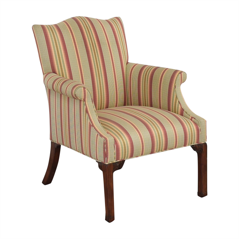 Ferrell Mittman Edward Ferrell Striped Accent Chair on sale
