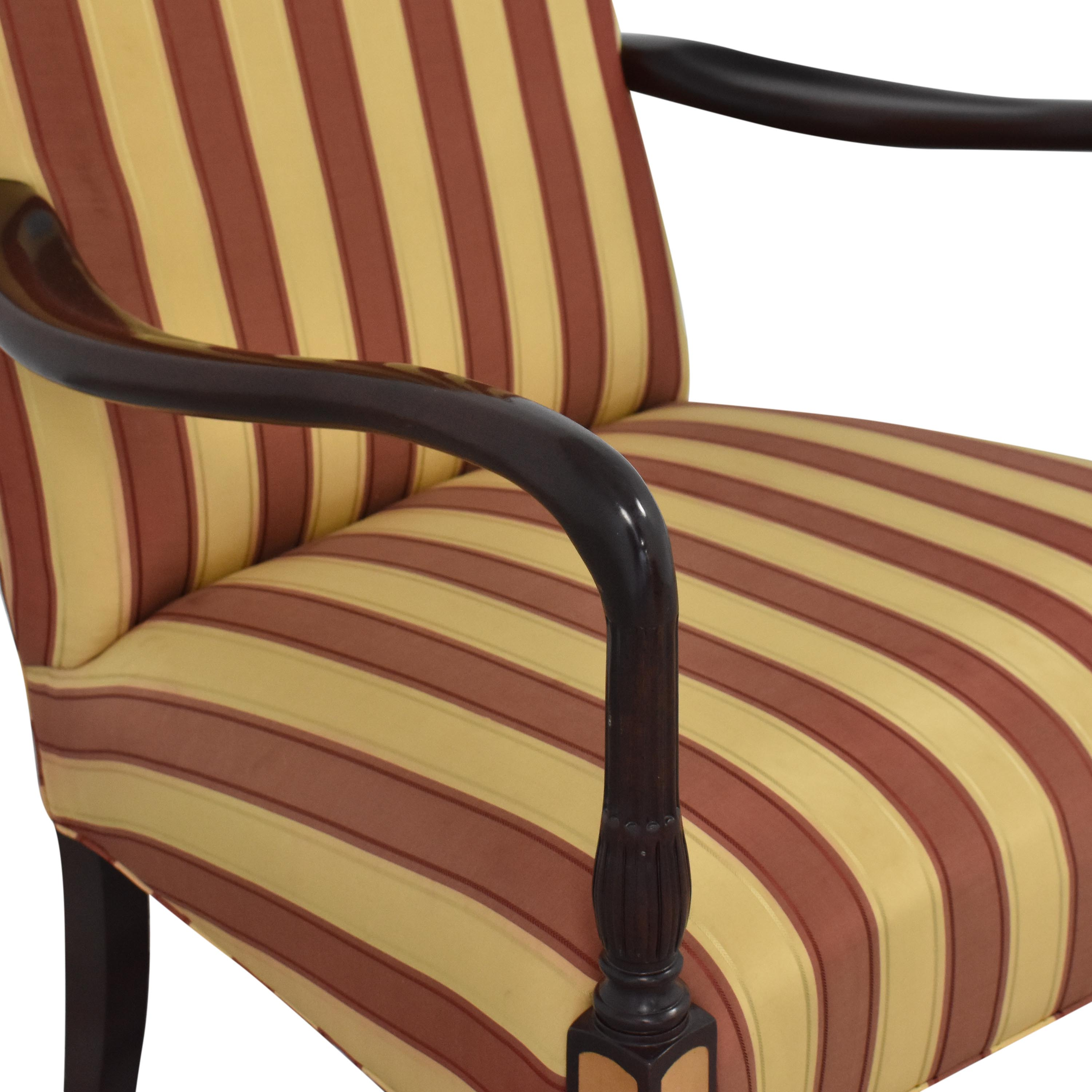 shop Hancock and Moore Hancock & Moore Striped Accent Chair online