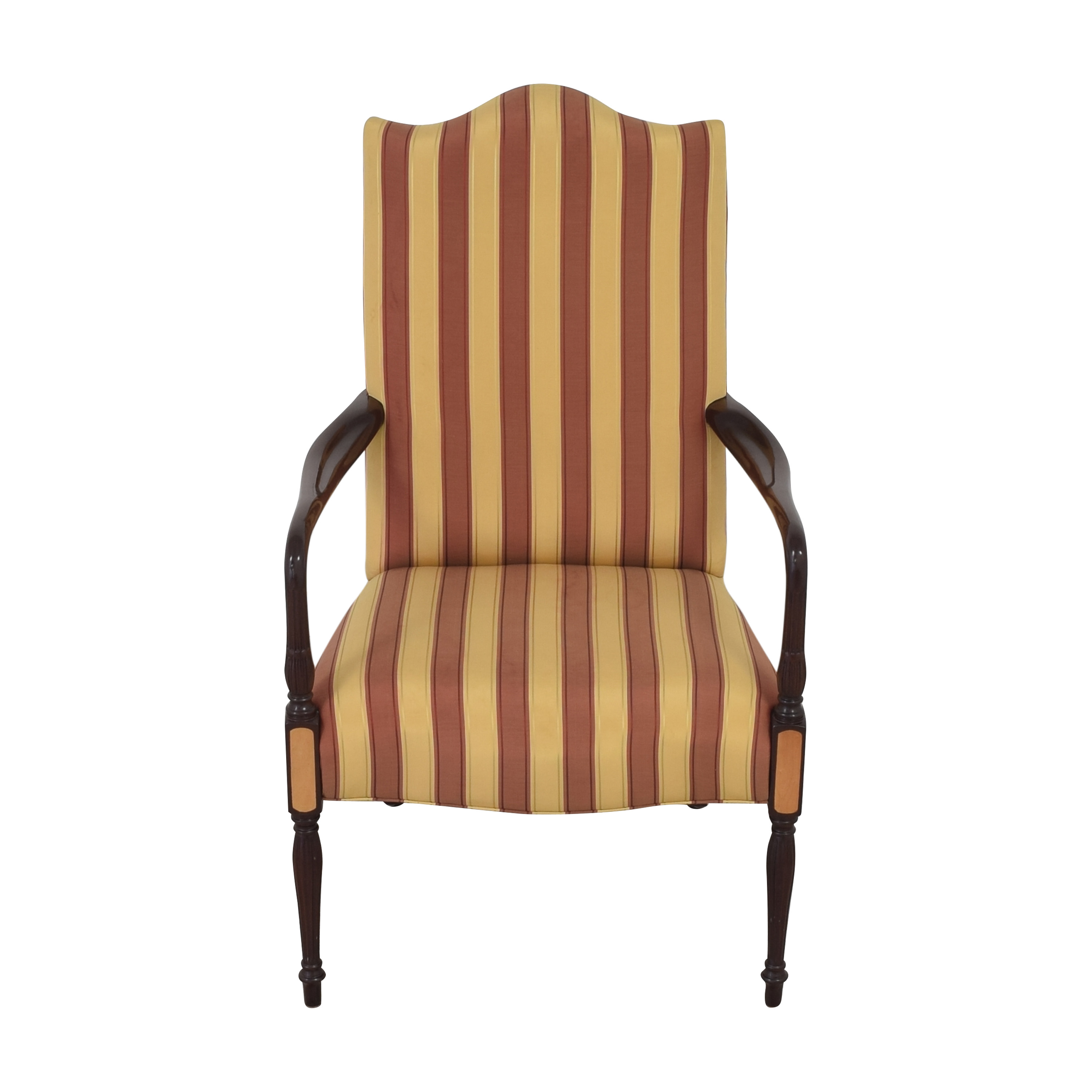 Hancock and Moore Hancock & Moore Striped Accent Chair Accent Chairs