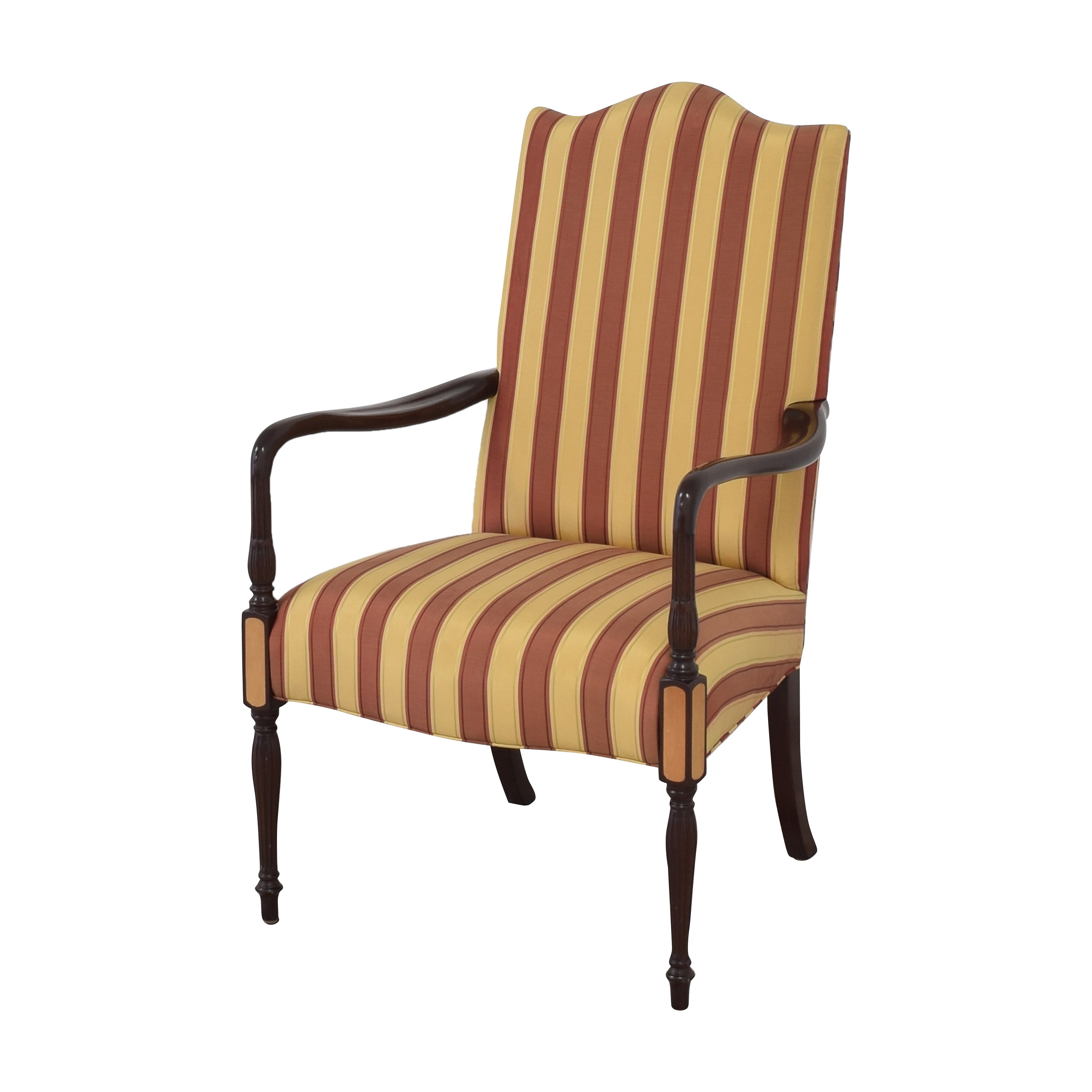 Hancock and Moore Hancock & Moore Striped Accent Chair used