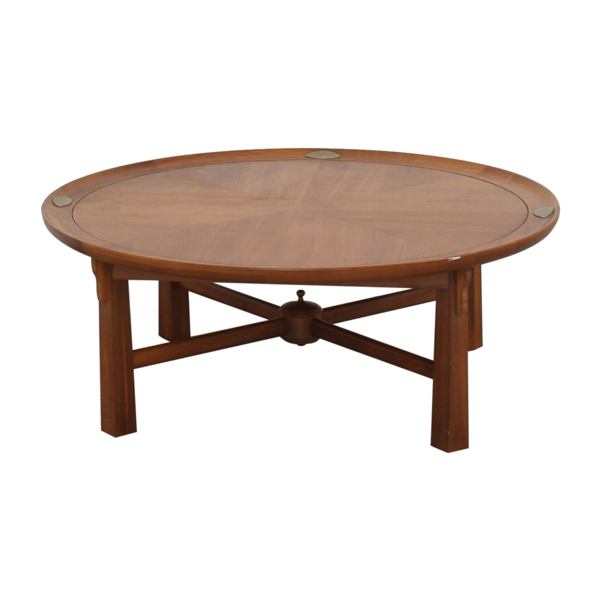 Heritage Henredon Heritage Henredon Round Coffee Table discount