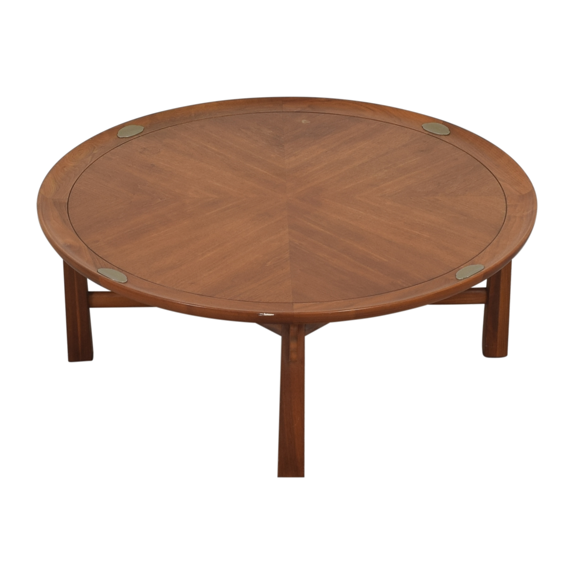 buy Heritage Henredon Round Coffee Table Heritage Henredon