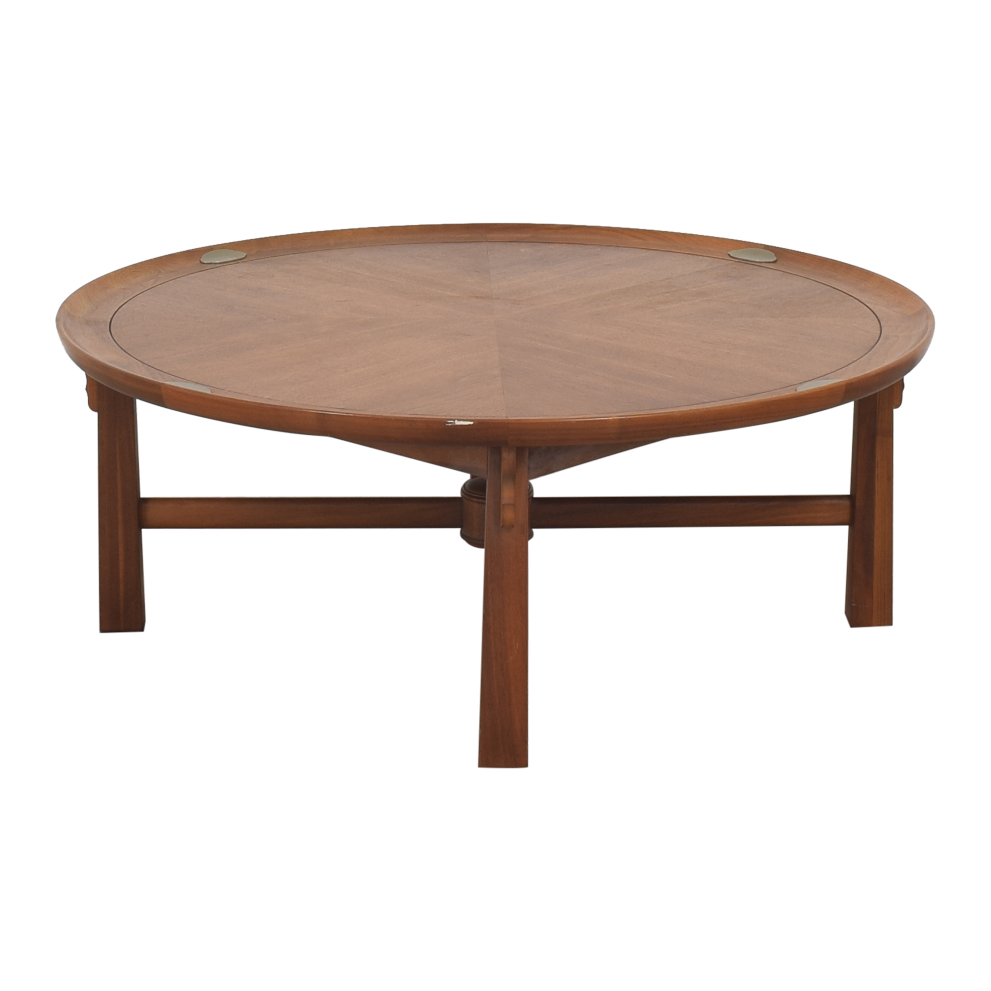 buy Heritage Henredon Round Coffee Table Heritage Henredon Coffee Tables