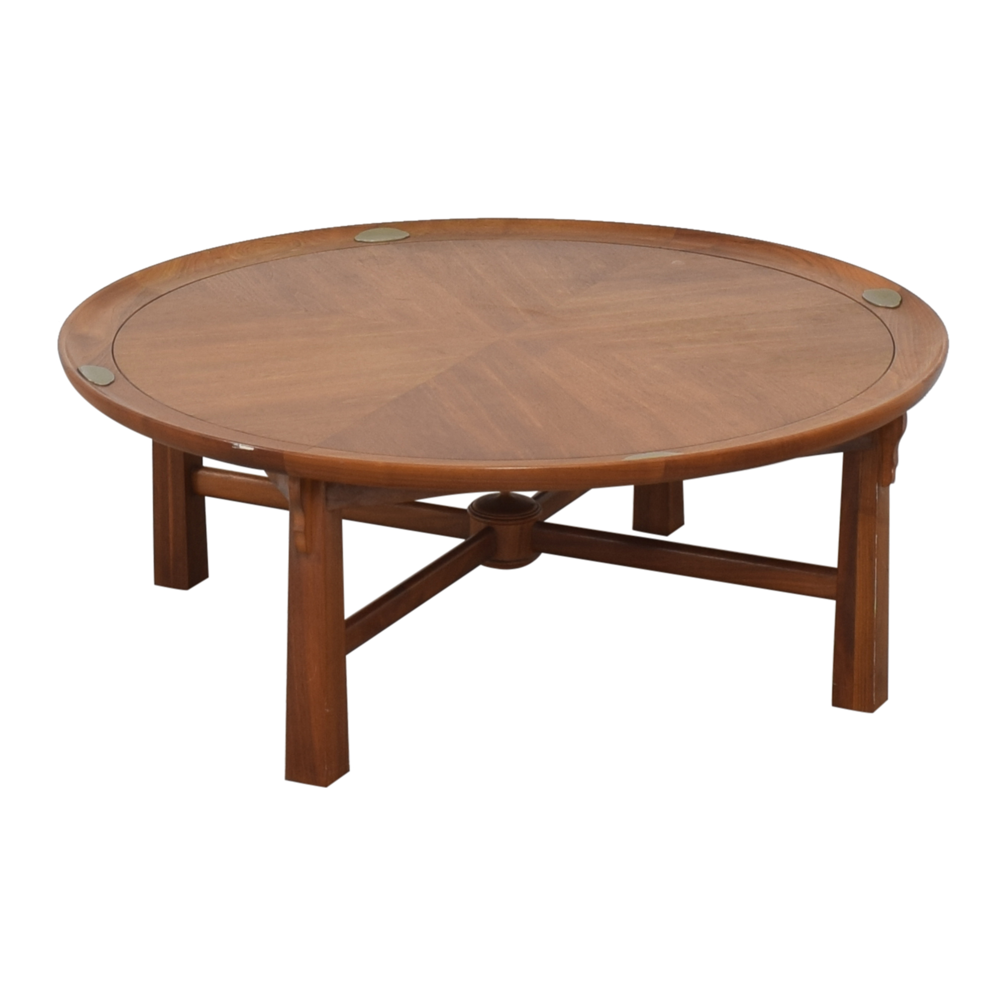 Heritage Henredon Heritage Henredon Round Coffee Table Coffee Tables