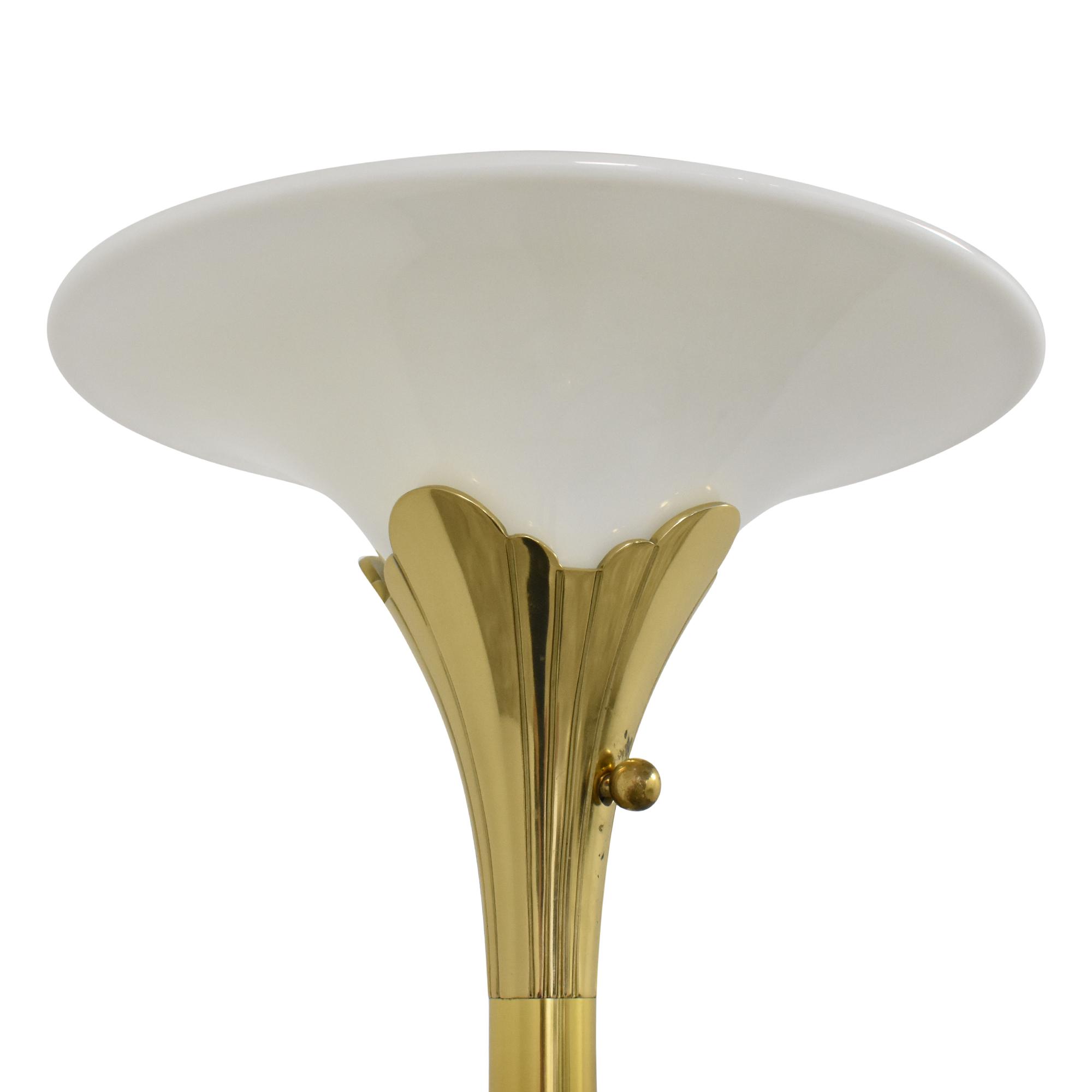 buy Stiffel Torchiere Style Floor Lamp Stiffel Decor