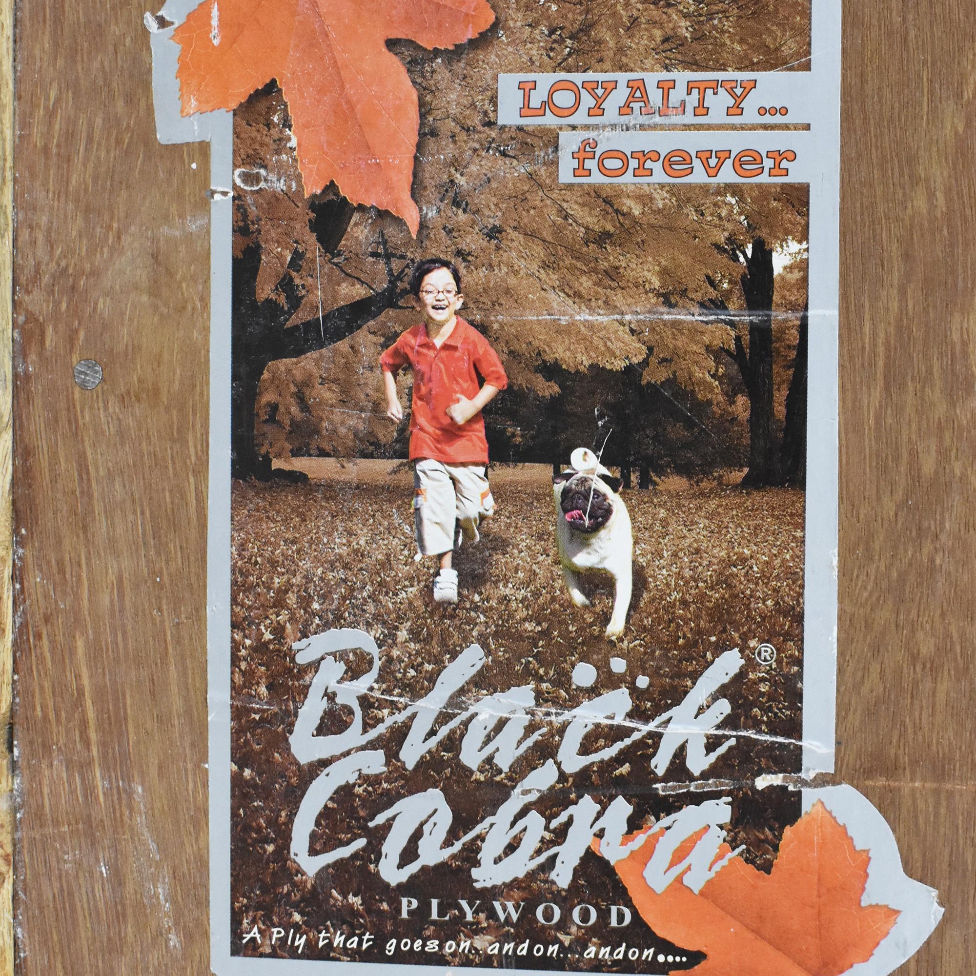 Bouquet Motif Wall Art Plaque pa