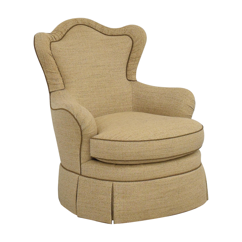 Henredon Furniture Henredon Isabella Chair tan