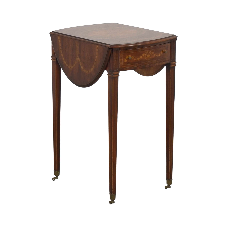 Maitland-Smith Maitland-Smith Drop Leaf Accent Table nyc