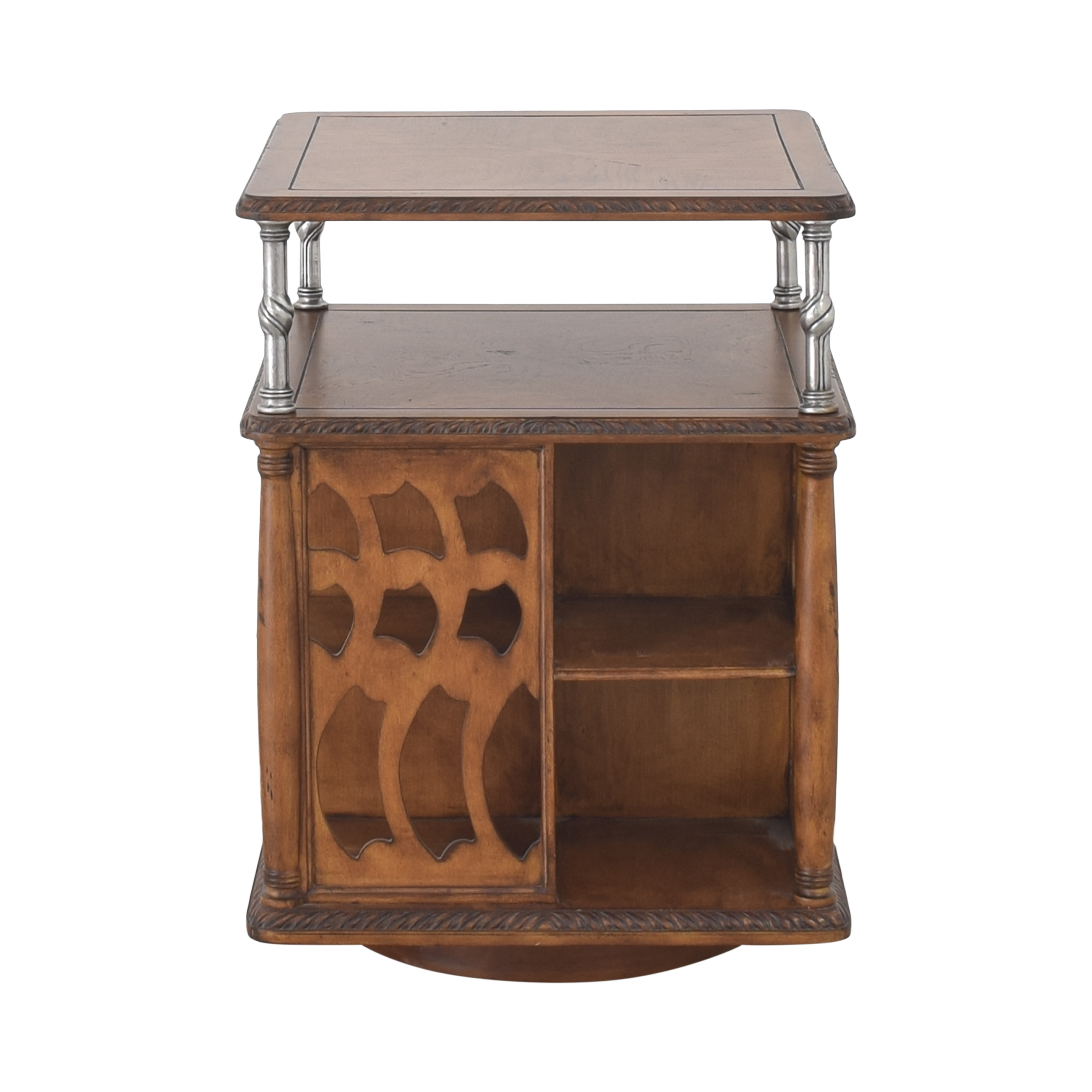 buy Vintage Style Swivel Accent Table  End Tables