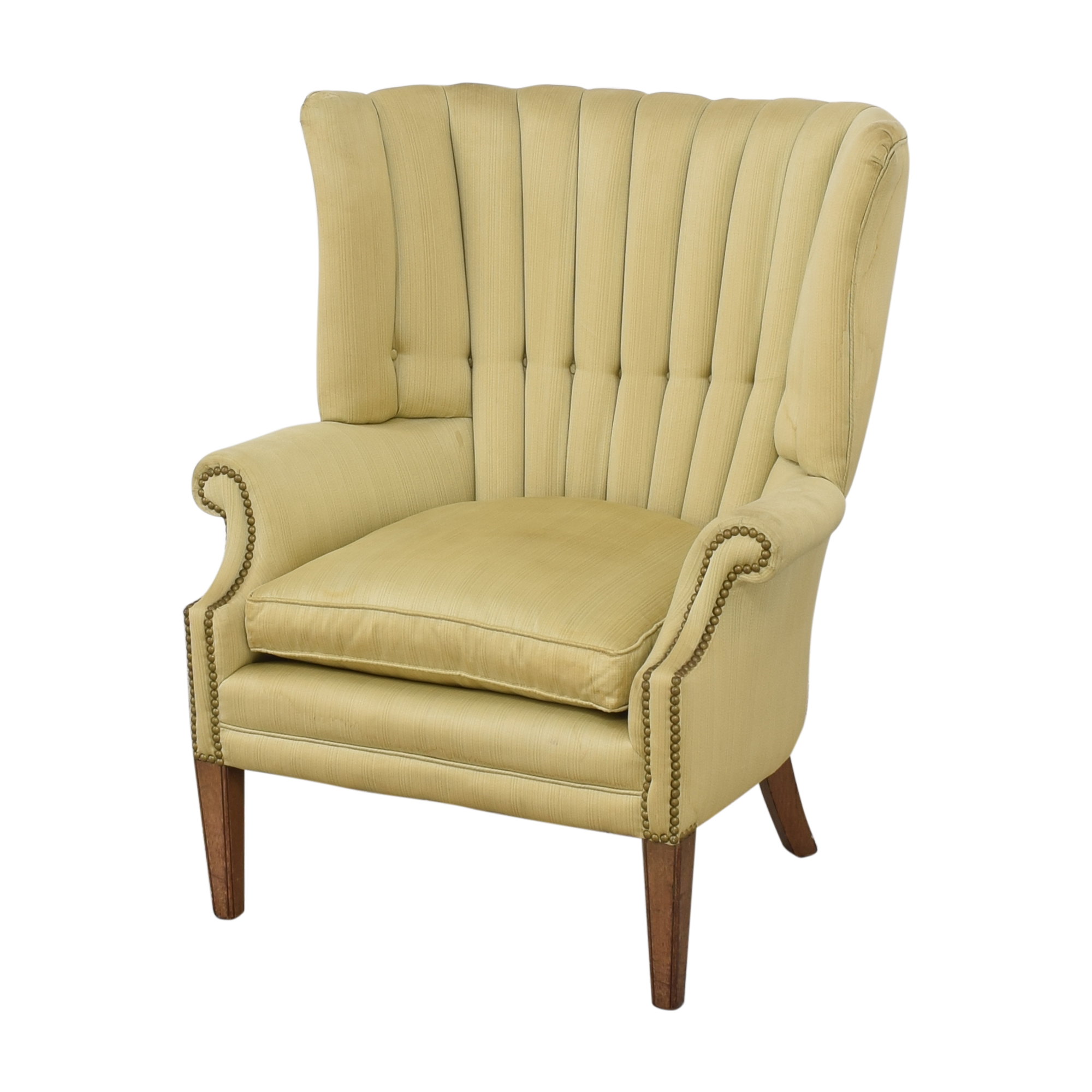 Wingback Accent Armchair used