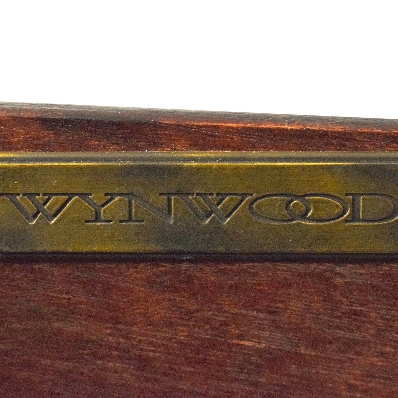 shop Flexsteel Wynwood Valencia Executive Desk Flexsteel