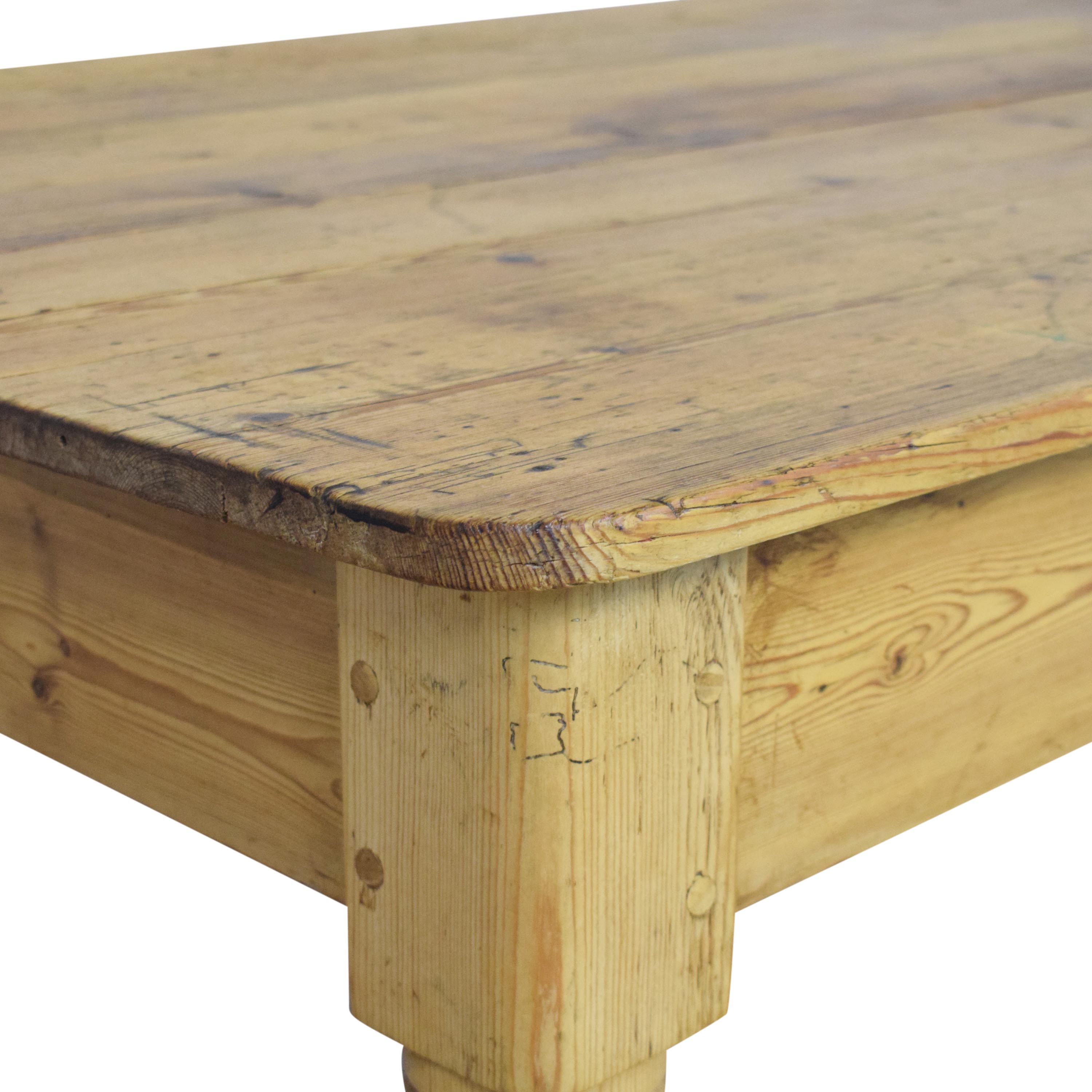 The Pine Mine Coffee Table second hand