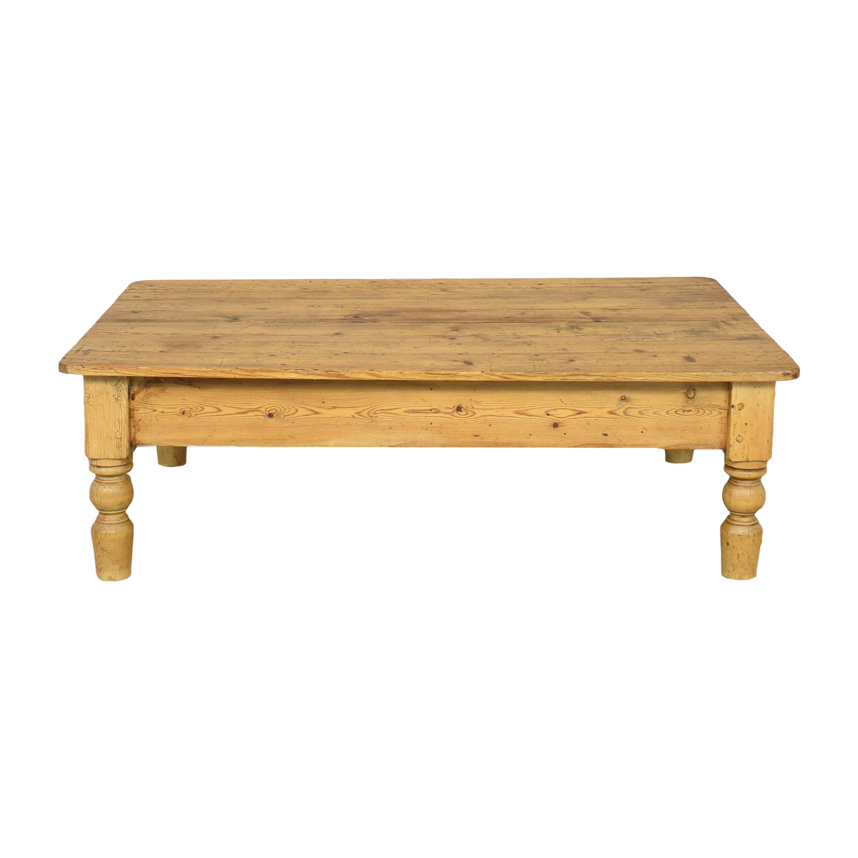 The Pine Mine Coffee Table nj