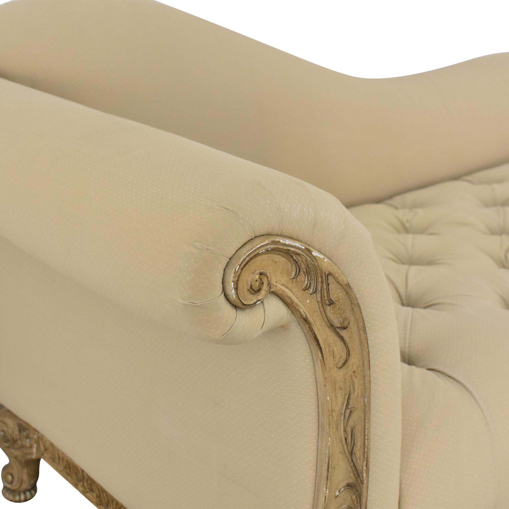 Levitz Levitz Tufted Chaise dimensions