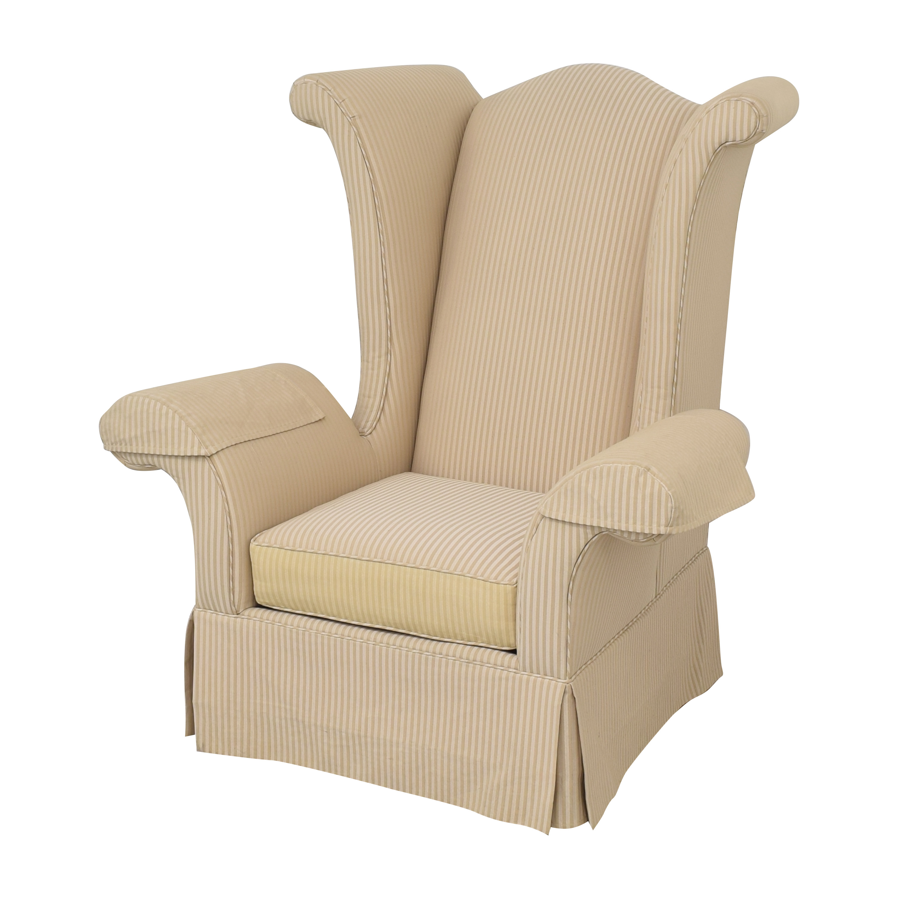 Levitz Levitz Wing Back Chair ma