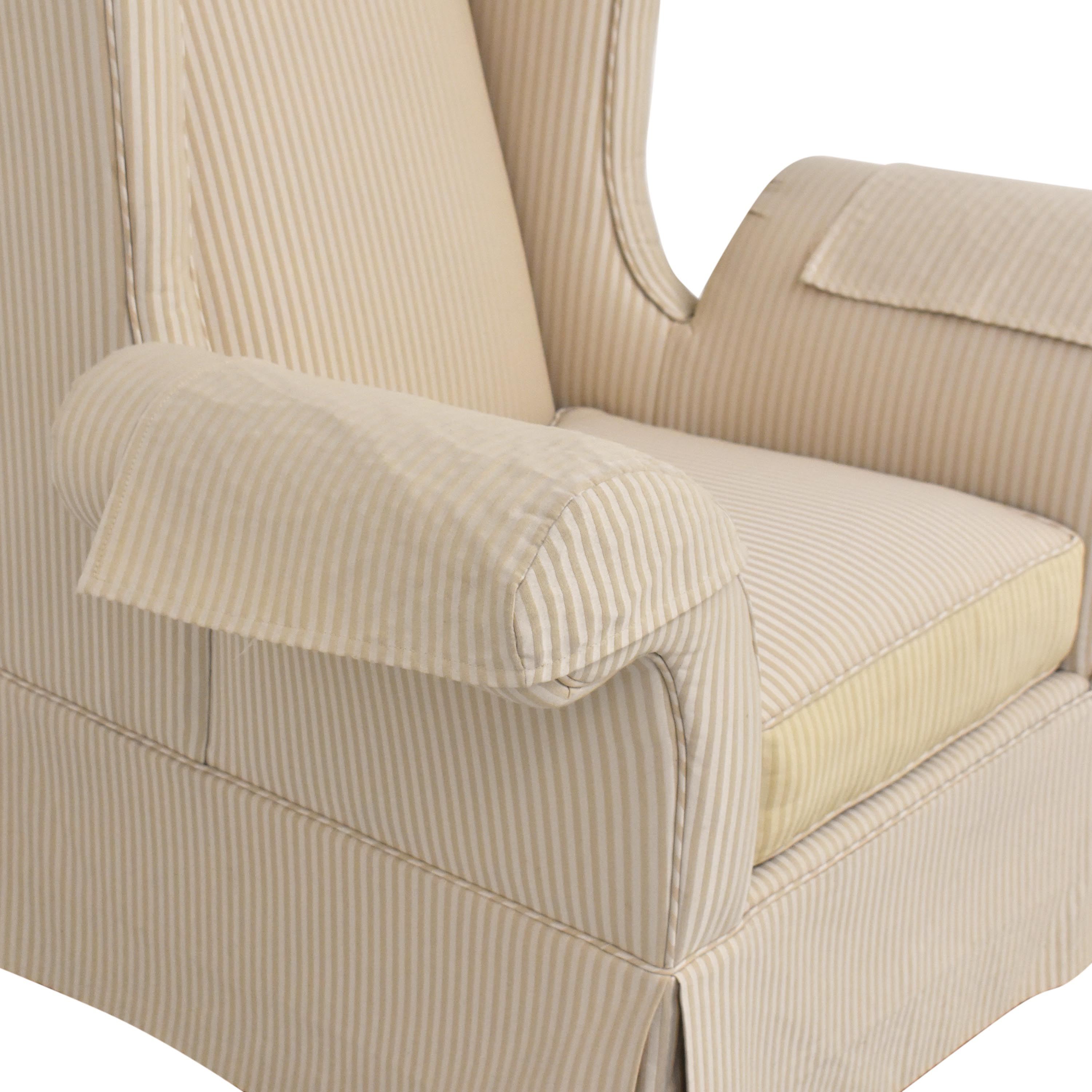 Levitz Levitz Wing Back Chair coupon