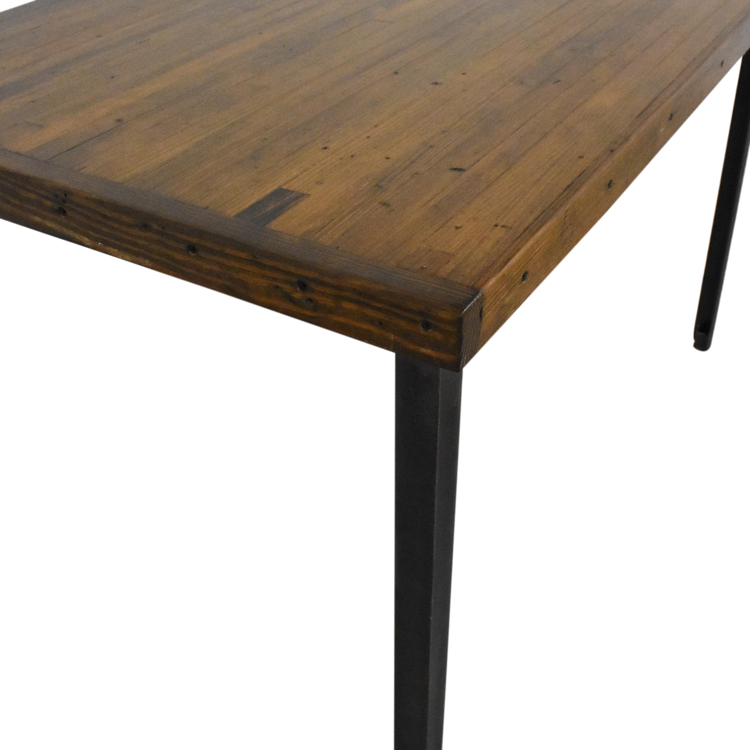 Reclaimed Dining Table on sale