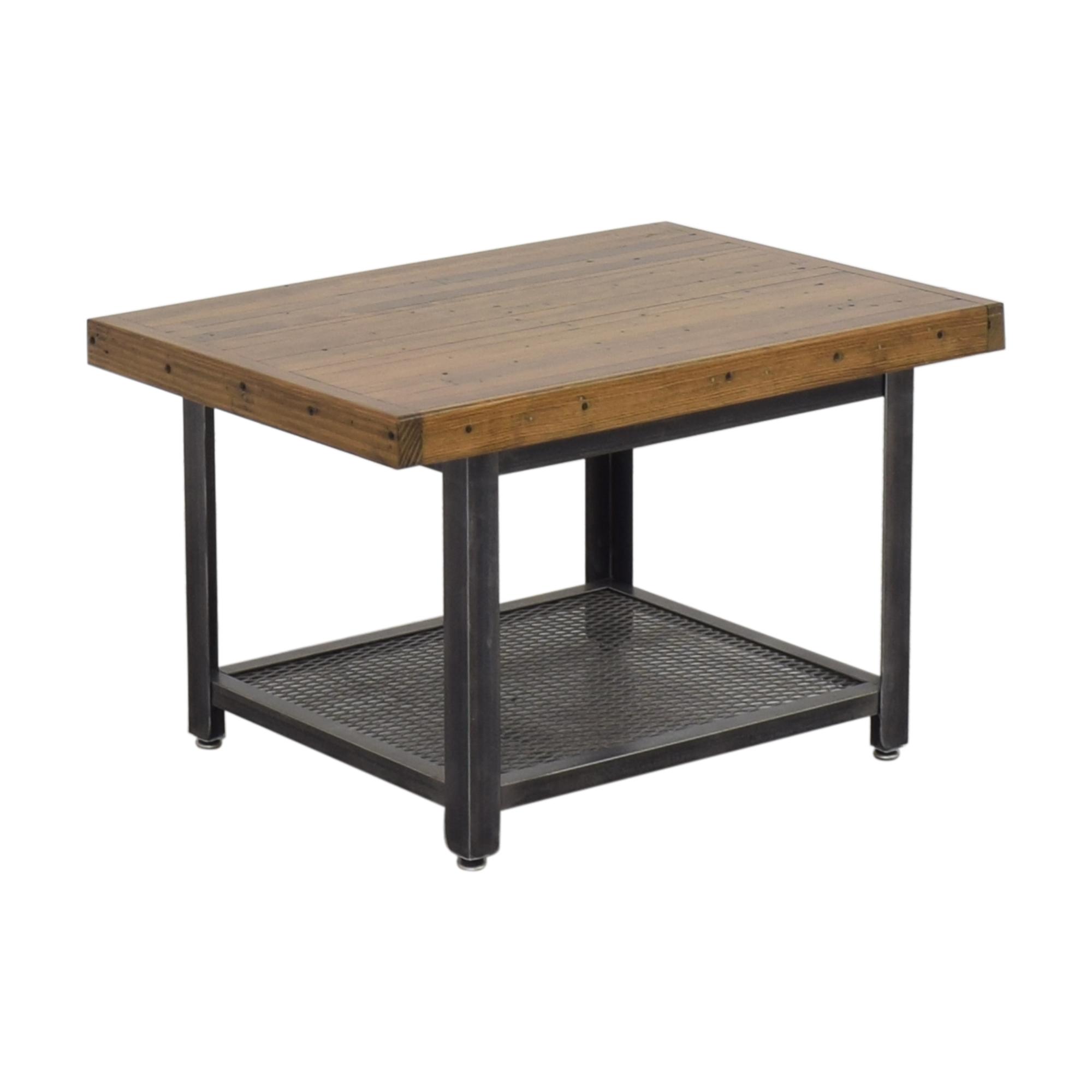 Brooklyn Reclaimed Industrial Coffee Table Coffee Tables
