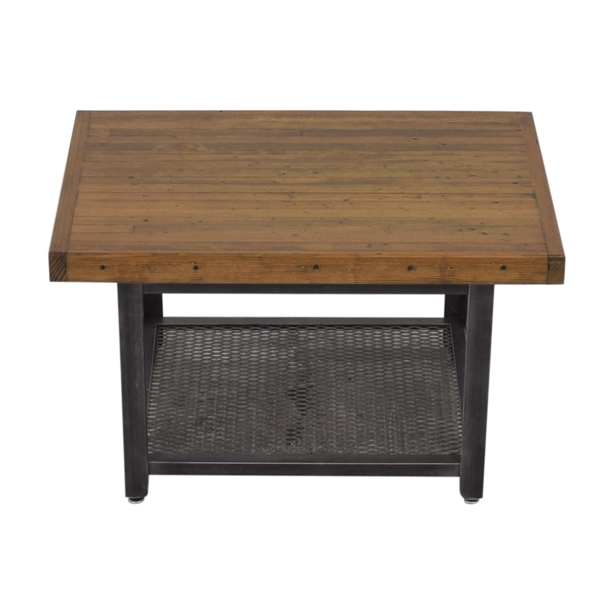 shop Brooklyn Reclaimed Industrial Coffee Table  Coffee Tables
