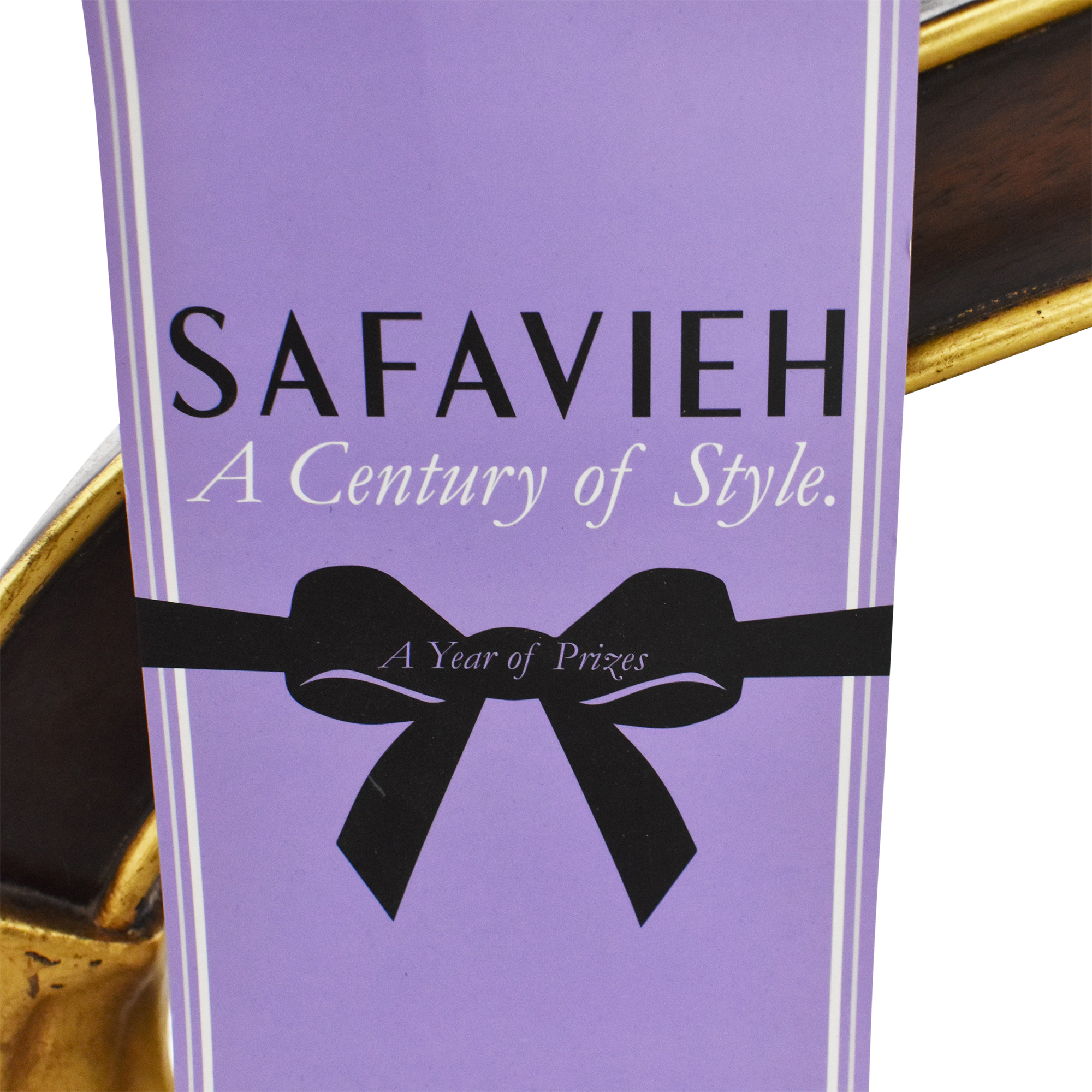 shop Safavieh Safavieh Couture Ermin Tufted Club Ottoman online