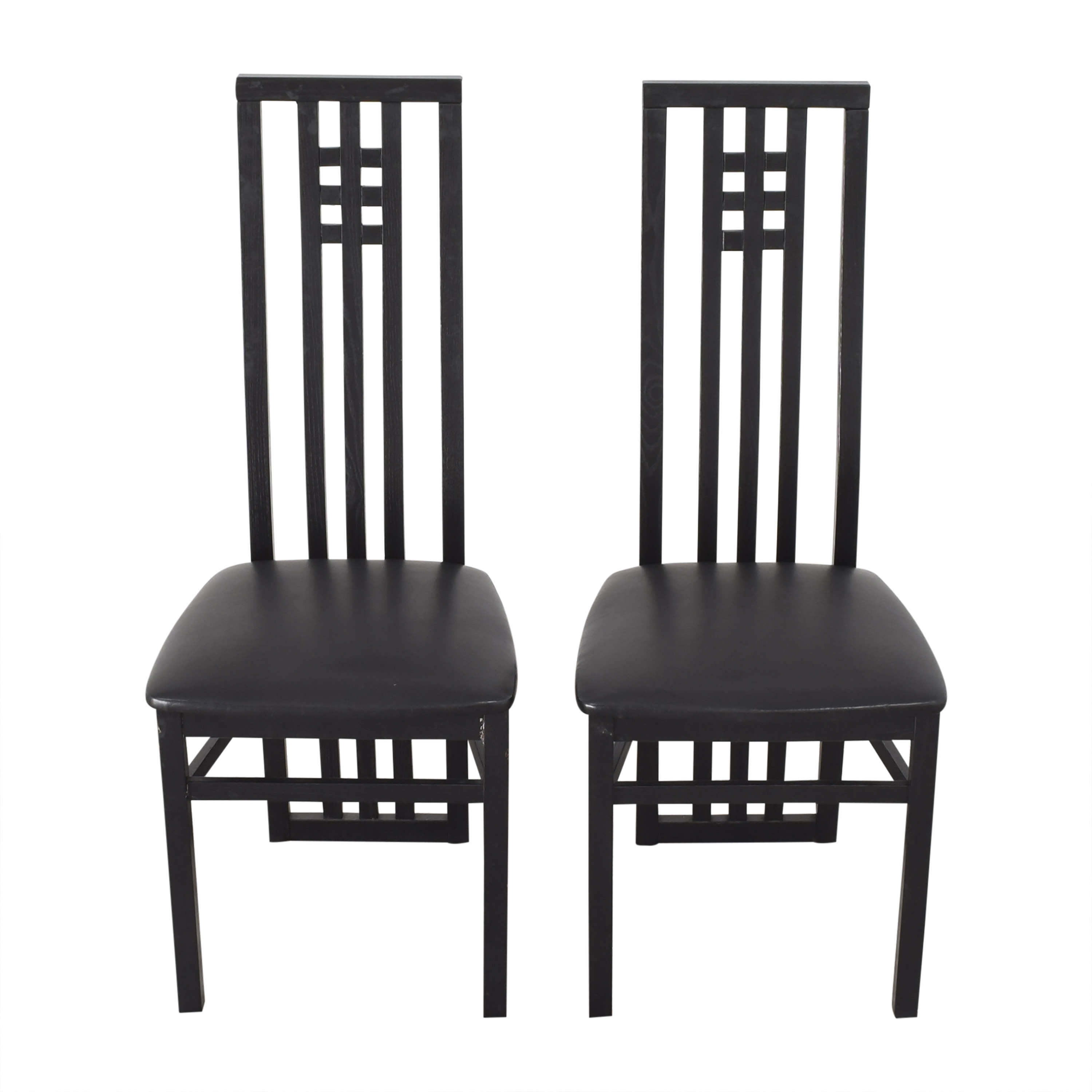 The Conran Shop The Conran Shop Mackintosh-Style Dining Chairs used