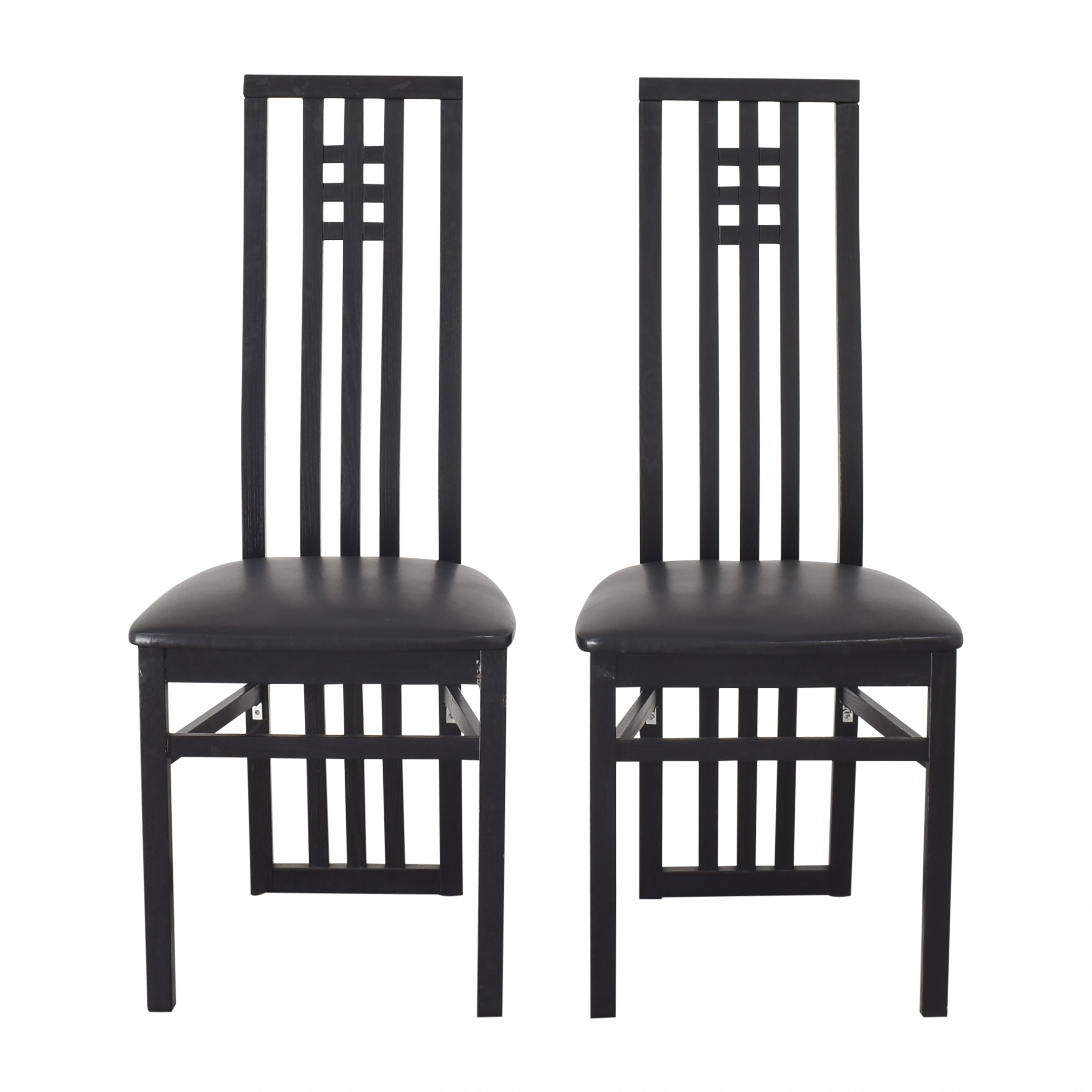 The Conran Shop The Conran Shop Mackintosh-Style Dining Chairs Chairs