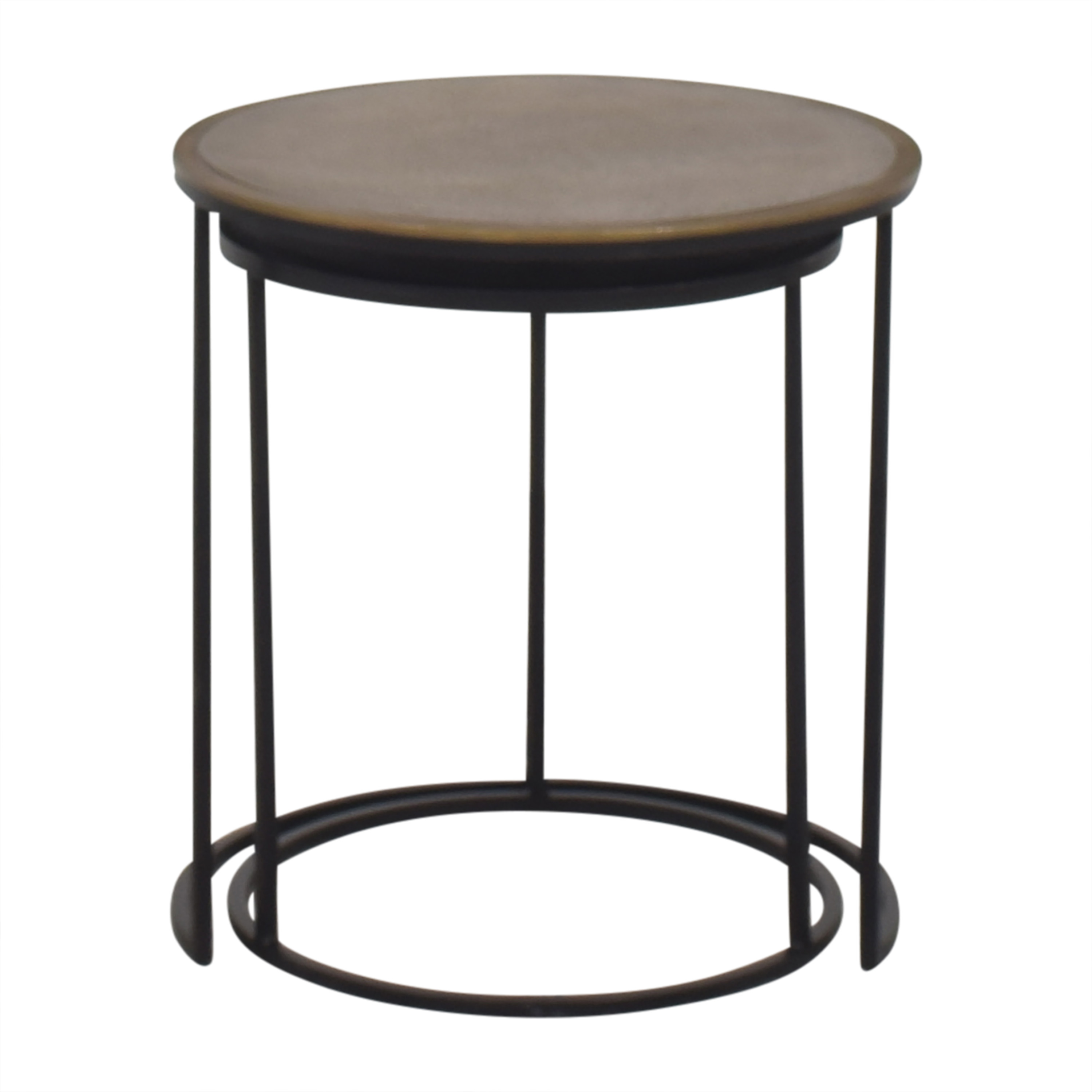 Crate & Barrel Crate & Barrel Knurl Nesting Accent Tables price