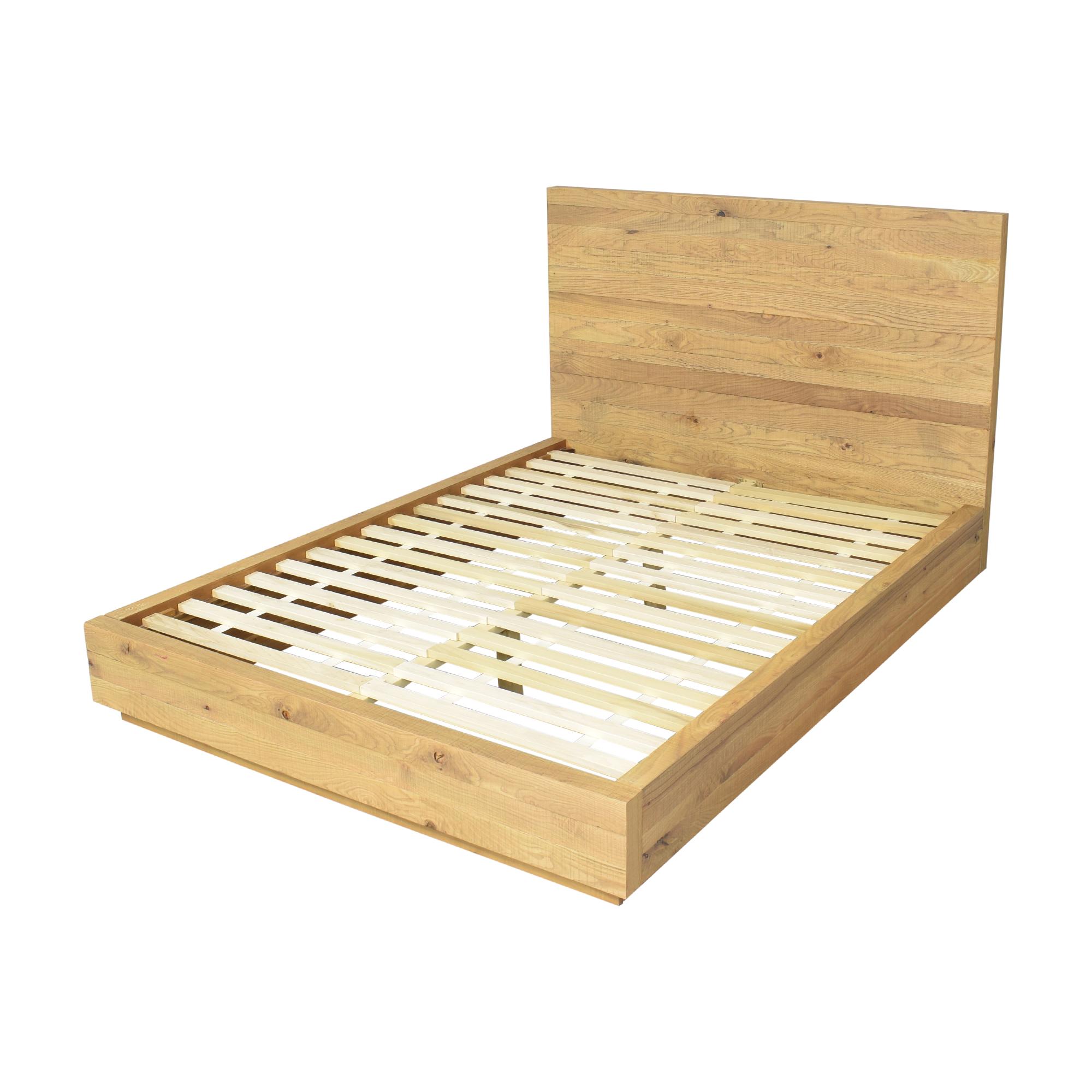 Crate & Barrel Cas Queen Bed sale