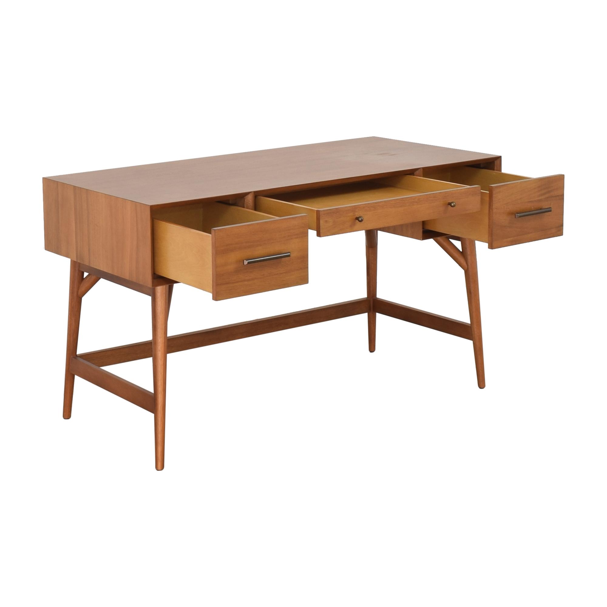 shop West Elm Mid-Century Desk West Elm Tables