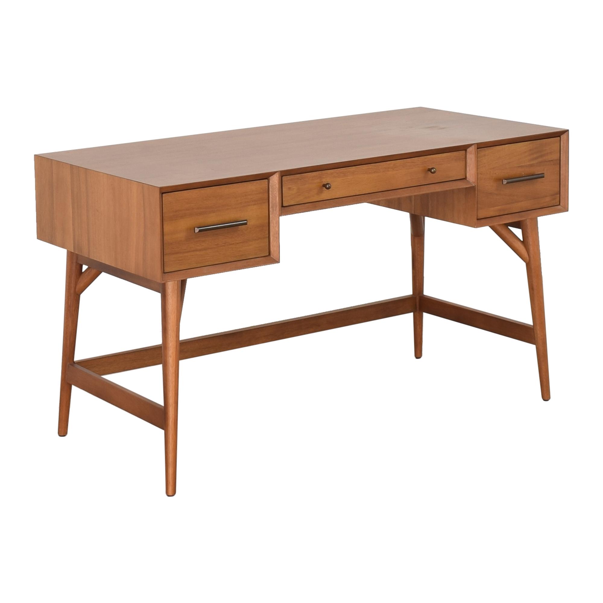 shop West Elm Mid-Century Desk West Elm Home Office Desks
