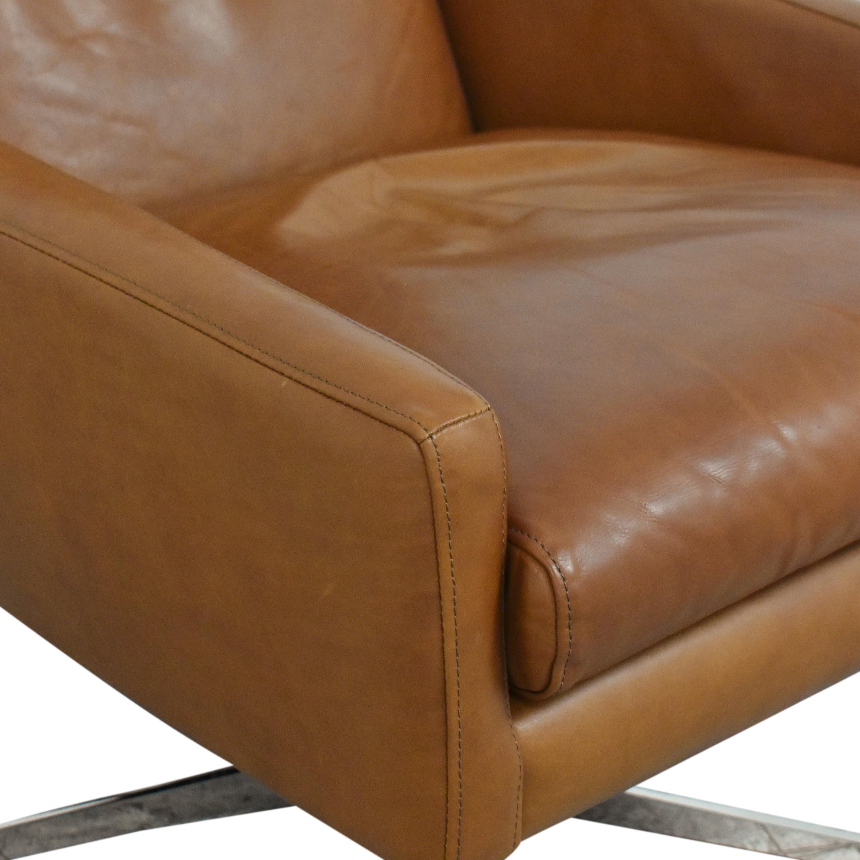 West Elm Austin Swivel Chair / Chairs