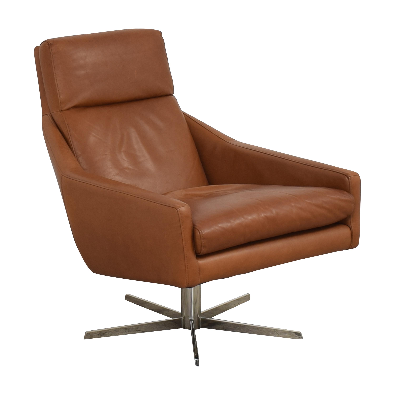 West Elm West Elm Austin Swivel Chair for sale