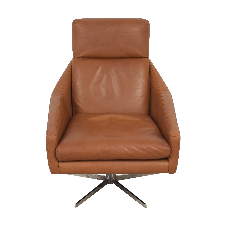 shop West Elm Austin Swivel Chair West Elm Chairs