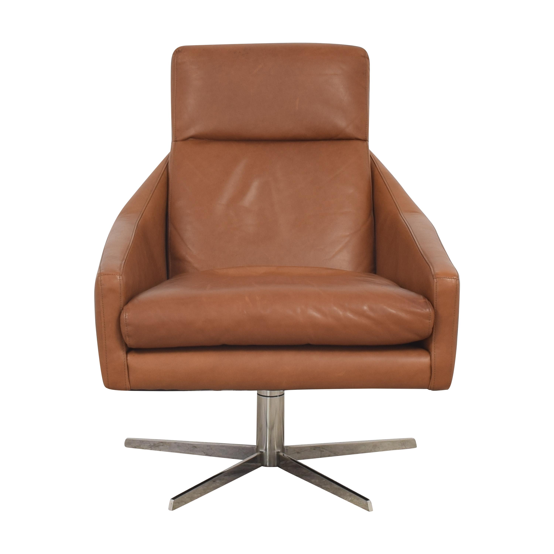 West Elm West Elm Austin Swivel Chair Accent Chairs