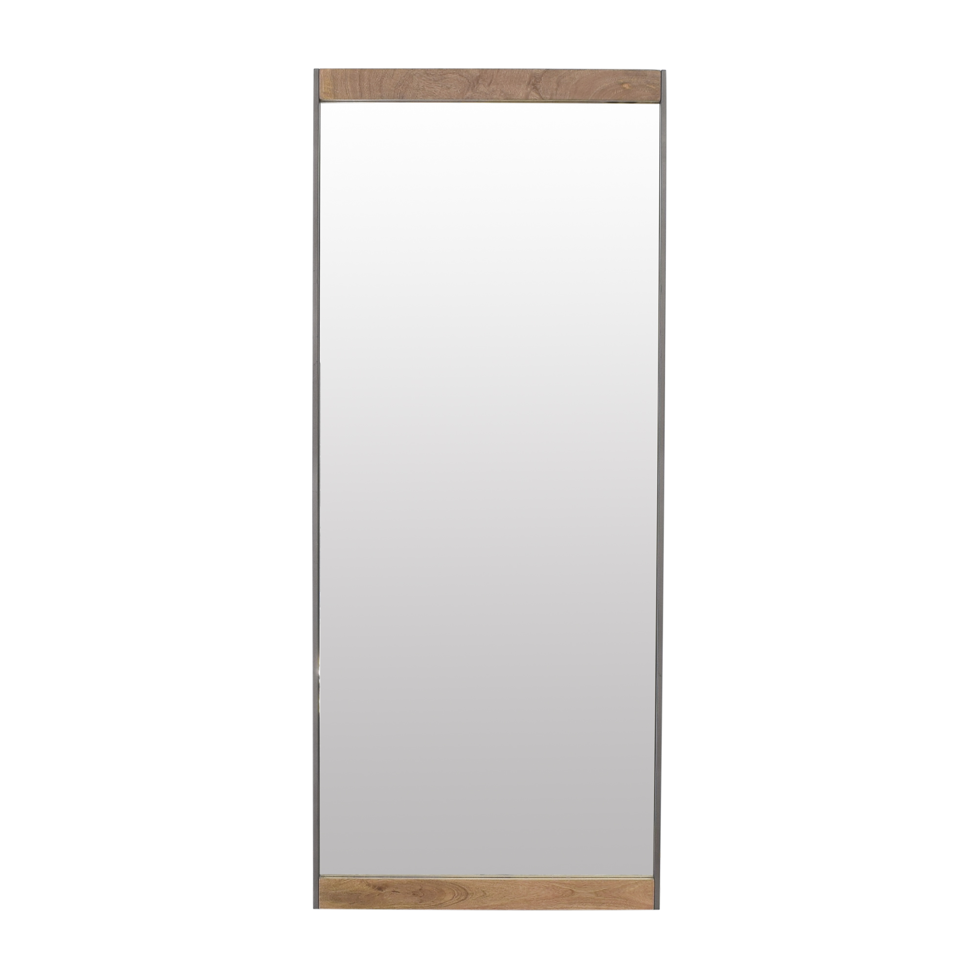 buy West Elm Industrial Floor Mirror West Elm