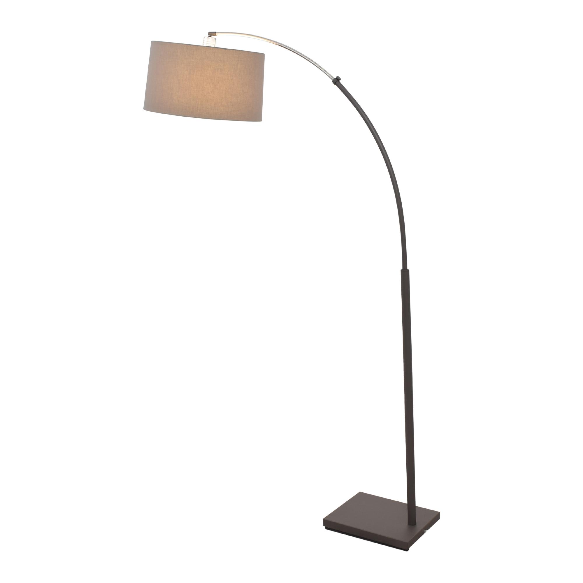 buy Crate & Barrel Dexter Arc Floor Lamp Crate & Barrel Decor