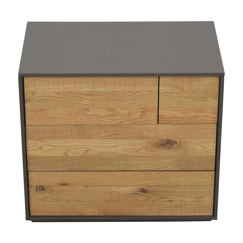 Crate & Barrel Crate & Barrel Cas Four Drawer Nightstand nj