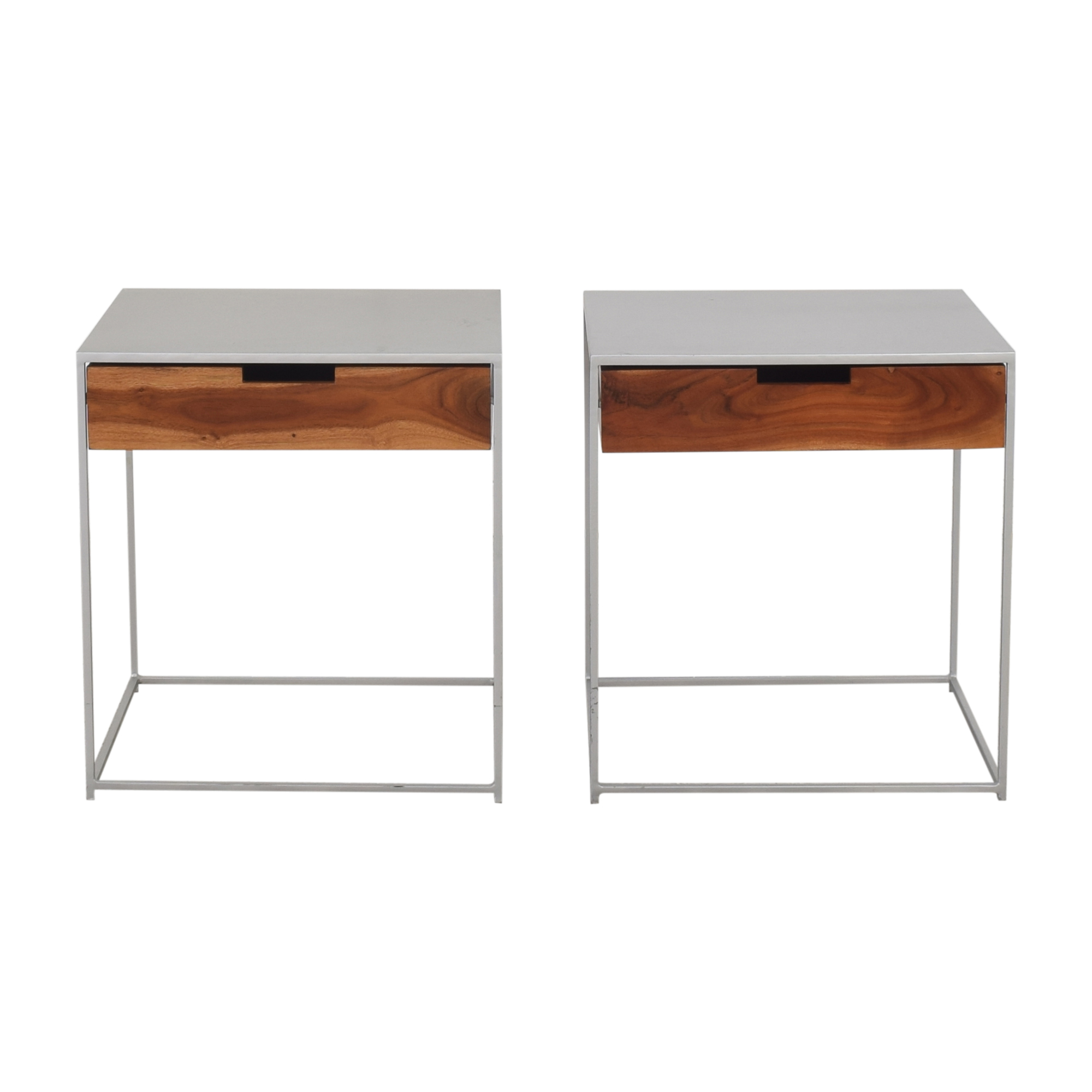 shop CB2 Audrey Nightstands CB2 Tables