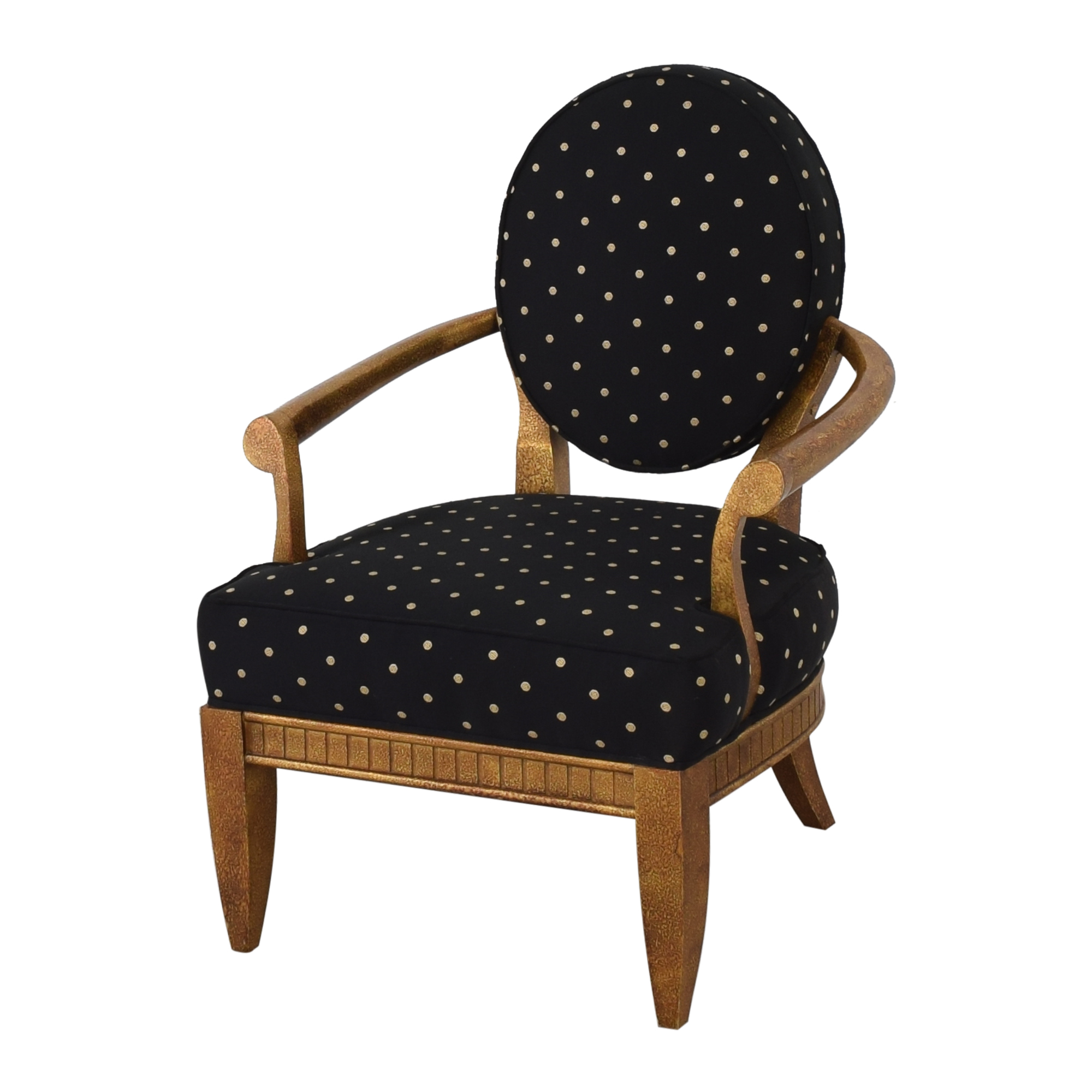 Oval Back Accent Chair nj
